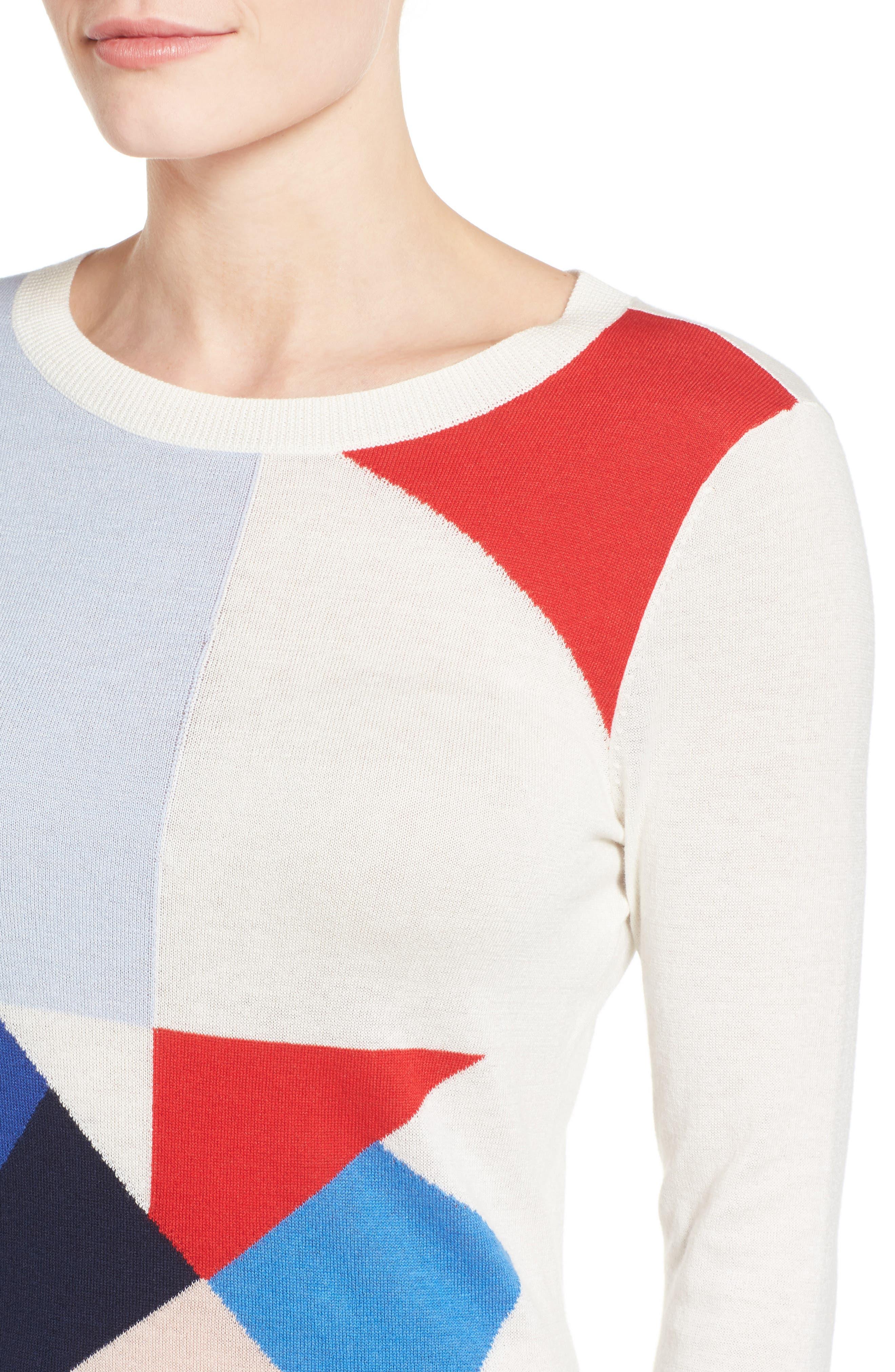 Cotton Blend Pullover,                             Alternate thumbnail 116, color,