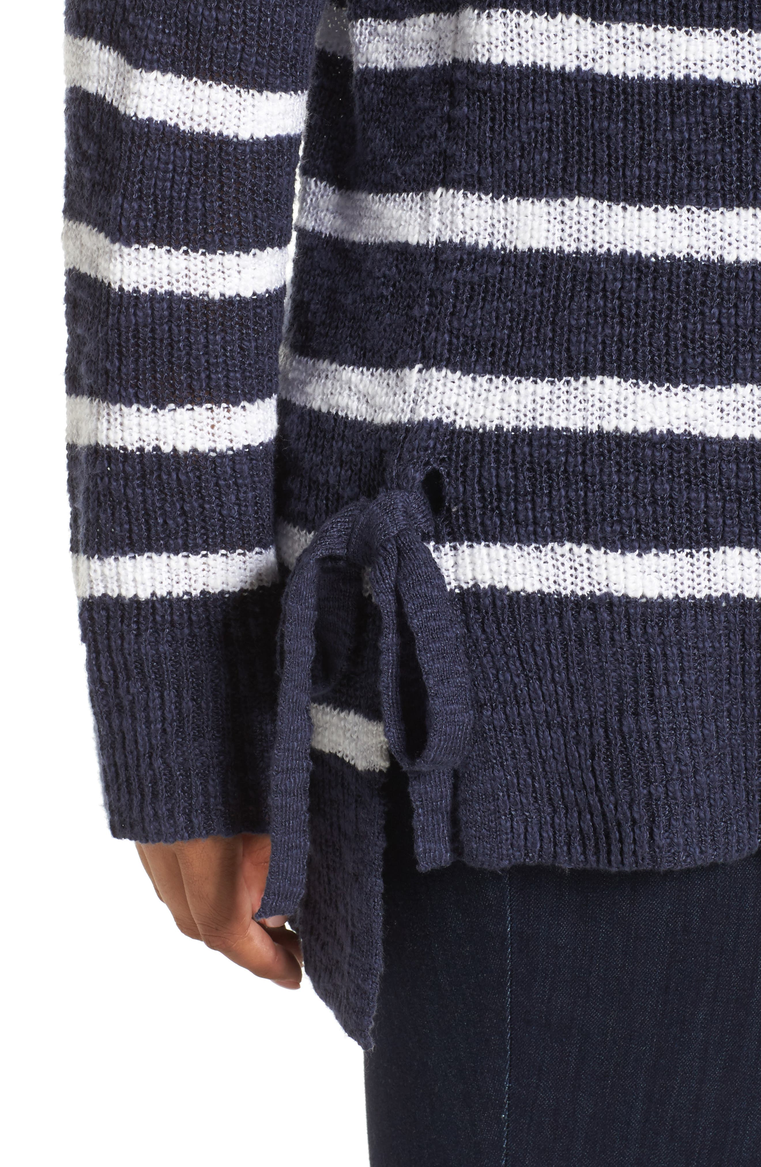 Tunic Sweater with Side Ties,                             Alternate thumbnail 12, color,
