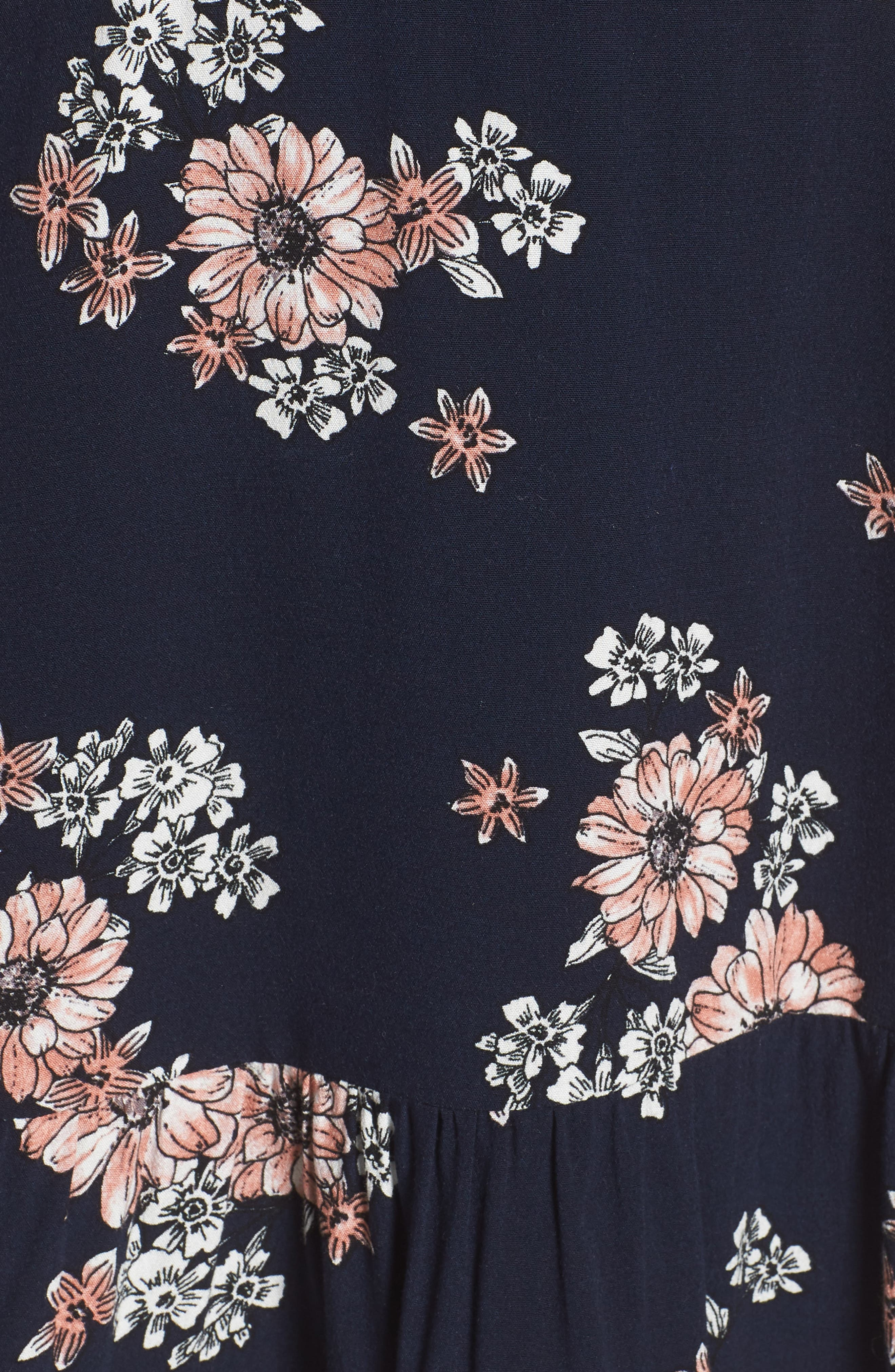 Dalma Floral Print Dress,                             Alternate thumbnail 5, color,