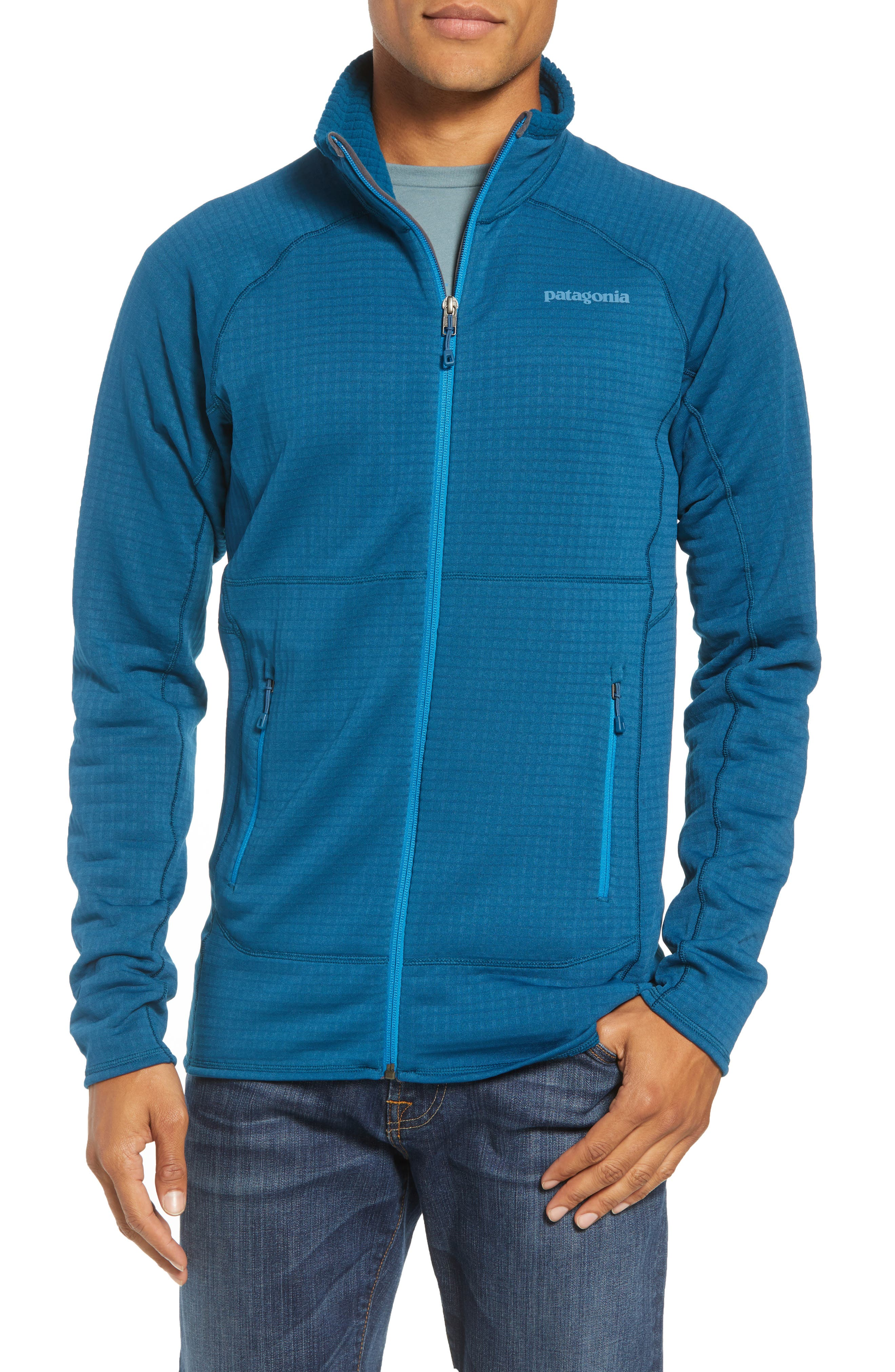 Patagonia R1 Full Zip Jacket, Blue