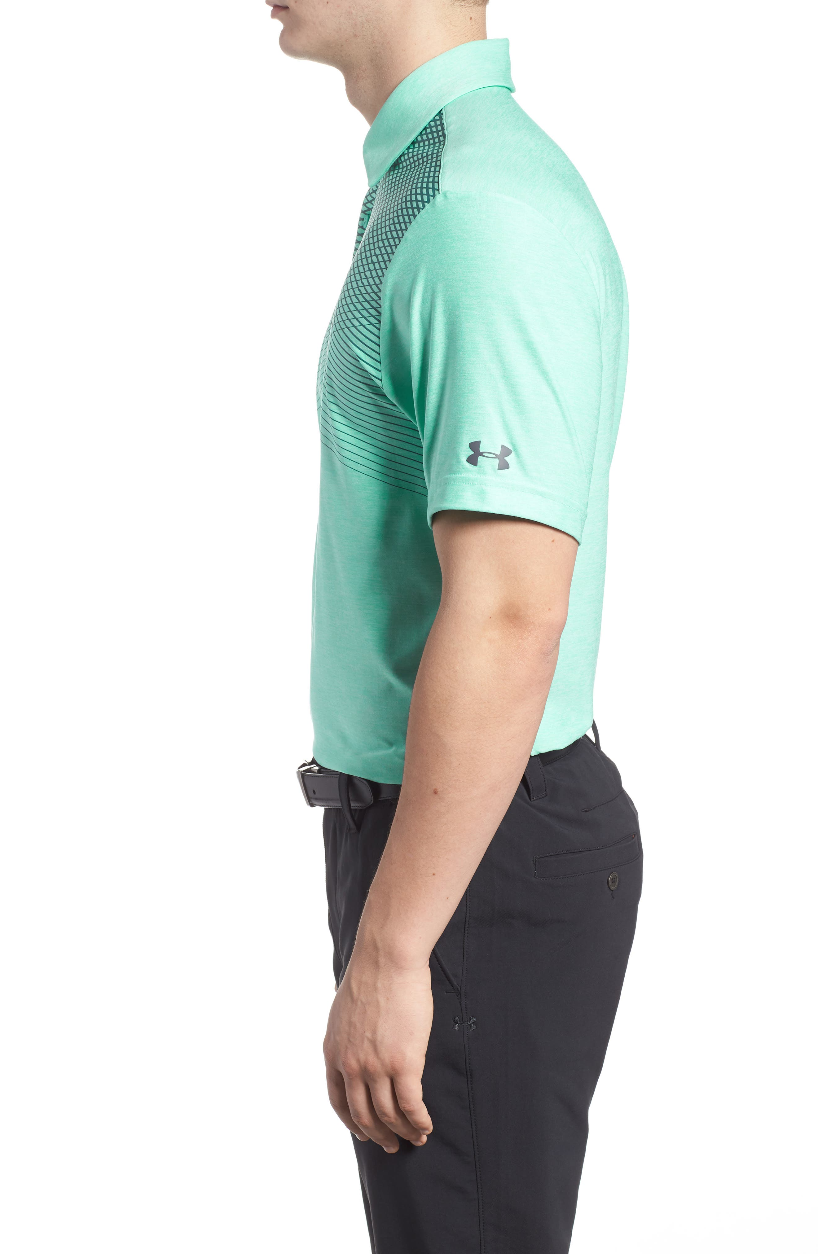 'Playoff' Loose Fit Short Sleeve Polo,                             Alternate thumbnail 123, color,