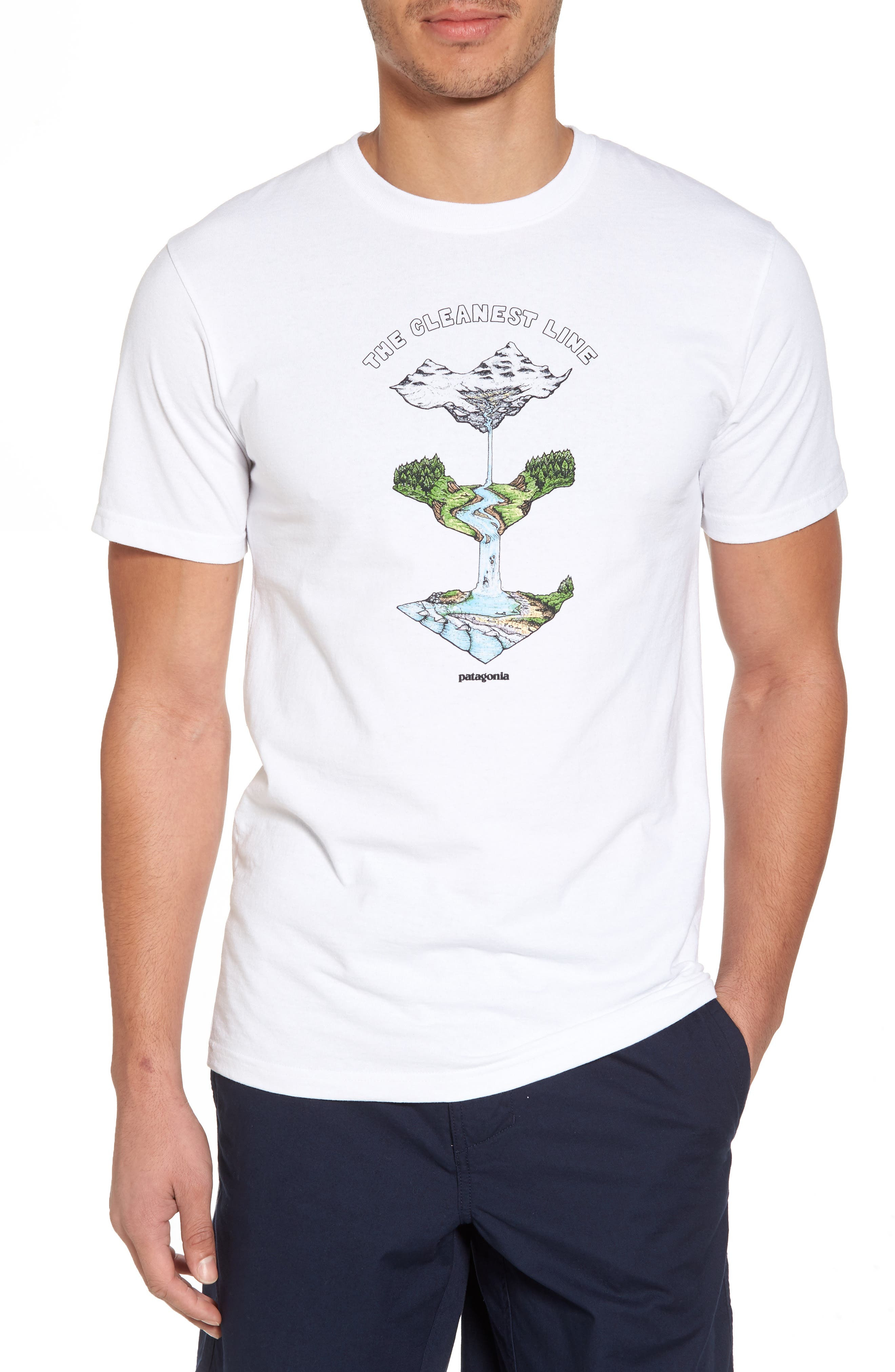 Glacier Born Responsibili-Tee T-Shirt,                             Main thumbnail 1, color,                             100