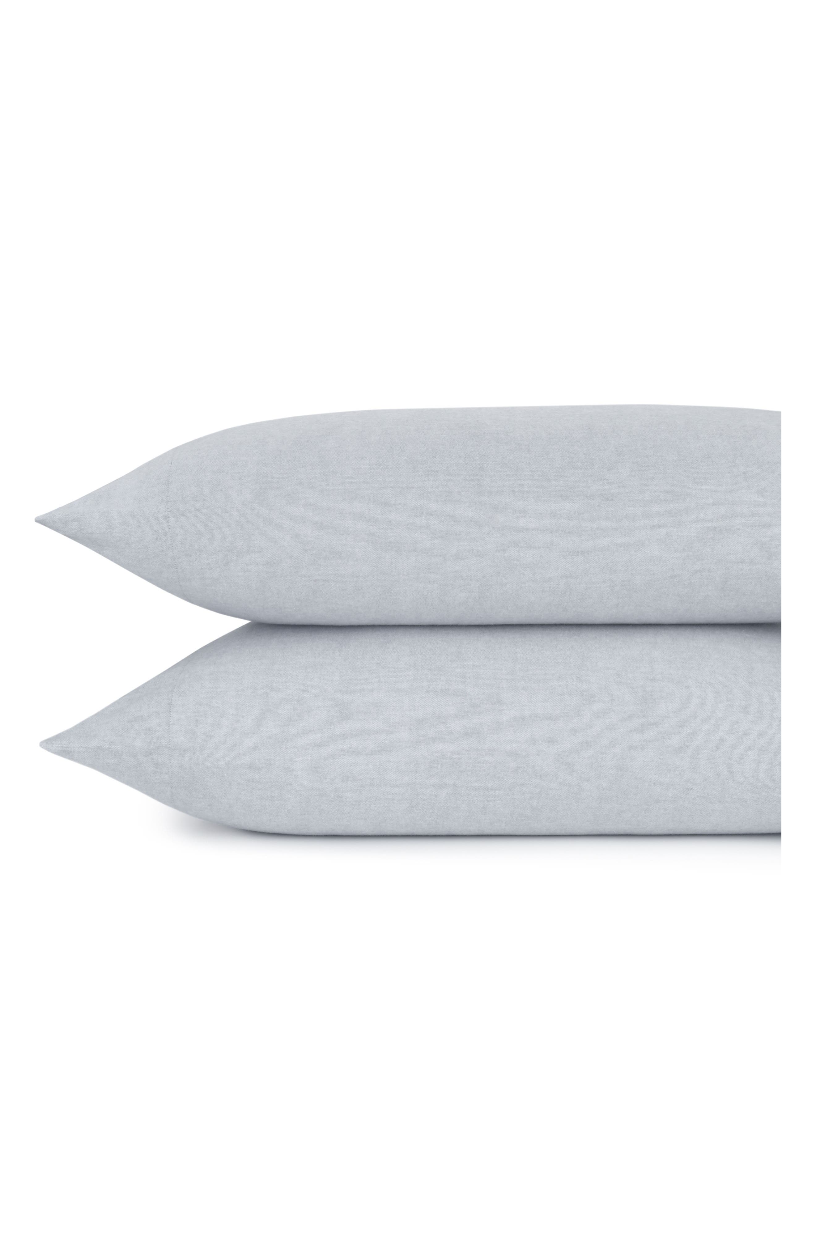 Flannel Luxe Pillowcases,                             Main thumbnail 3, color,