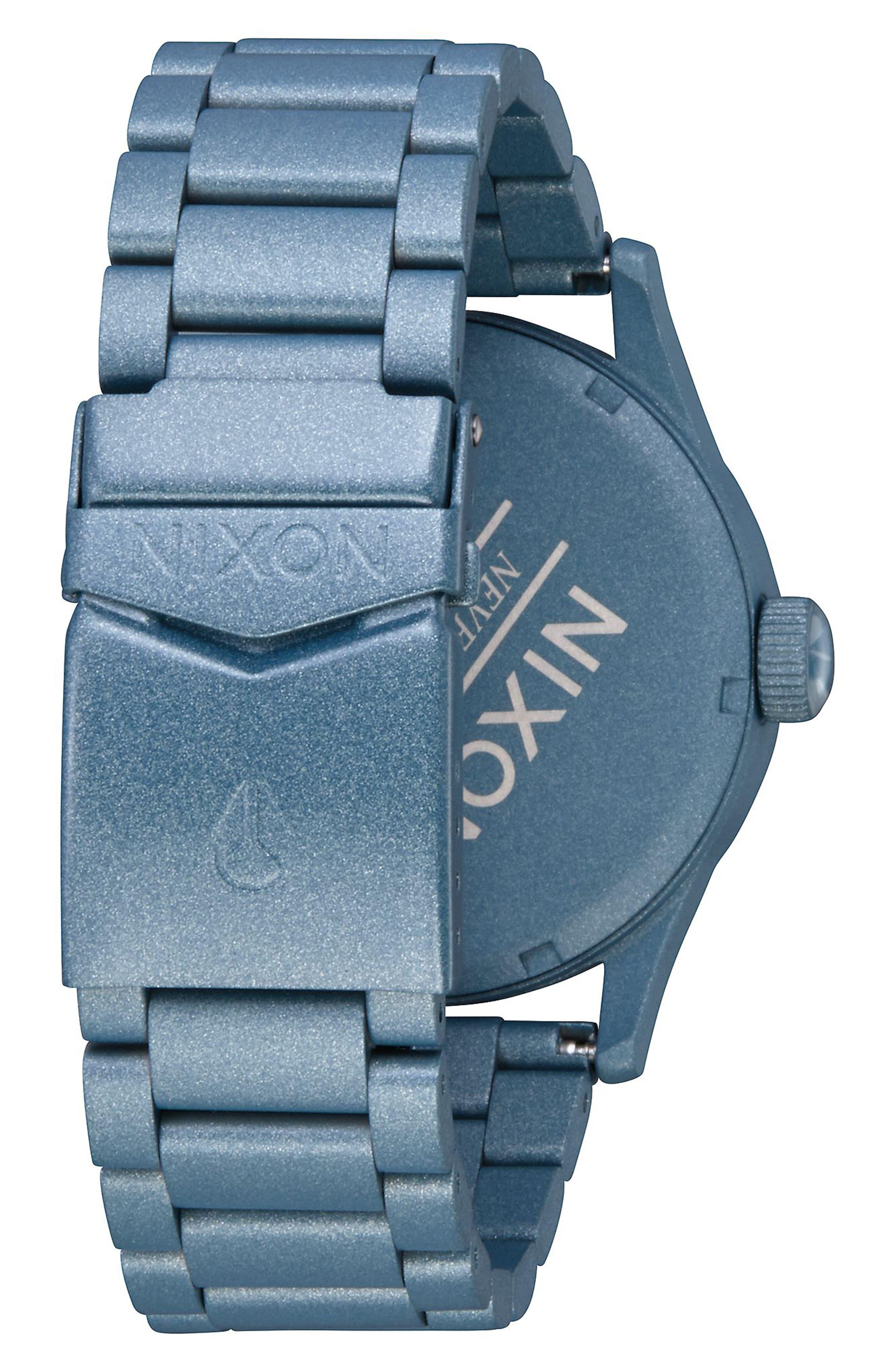 Sentry Bracelet Watch, 42mm,                             Alternate thumbnail 8, color,