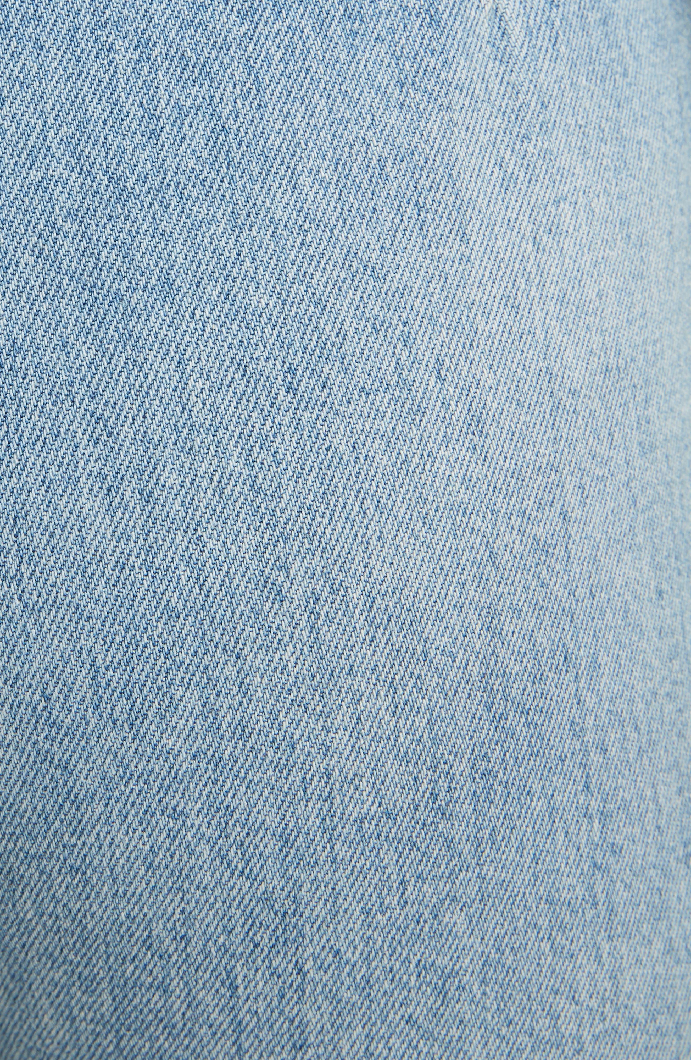 Tiffan Wide Leg Jeans,                             Alternate thumbnail 5, color,