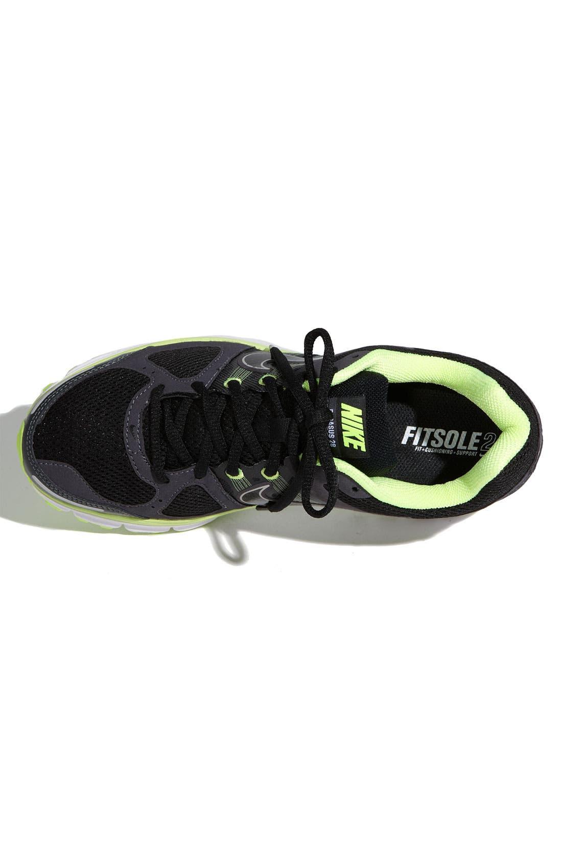 'Air Pegasus+ 28' Trail Running Shoe,                             Alternate thumbnail 2, color,                             002