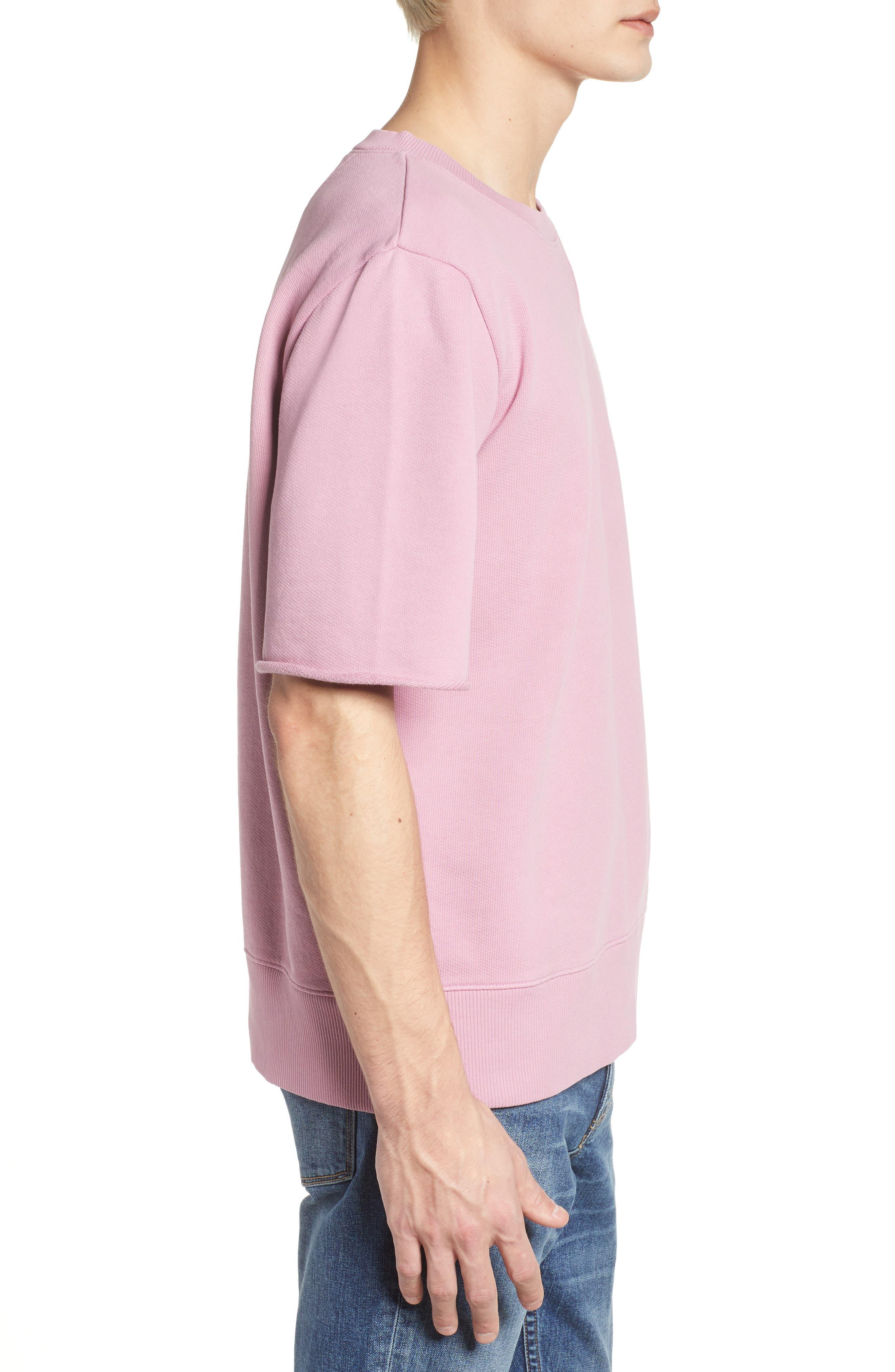 Cotton Terry Sweatshirt,                             Alternate thumbnail 6, color,