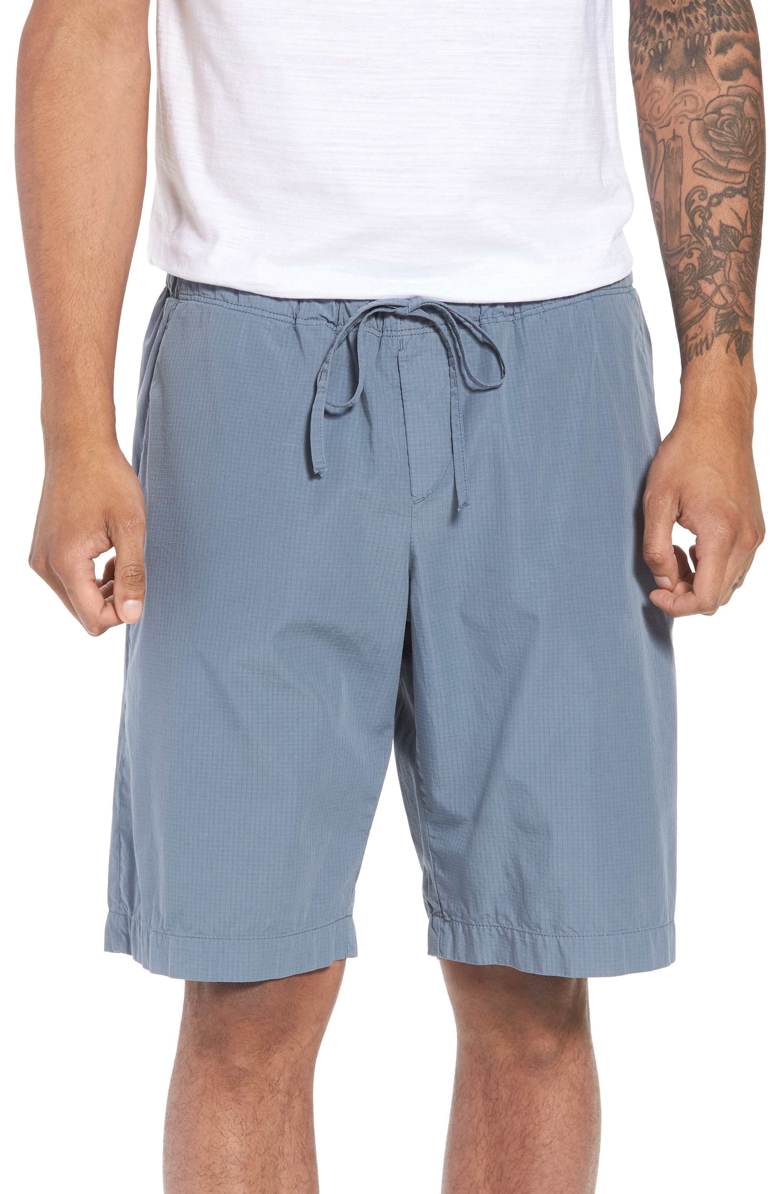 Passeo Cotton Shorts,                             Main thumbnail 1, color,                             GREY