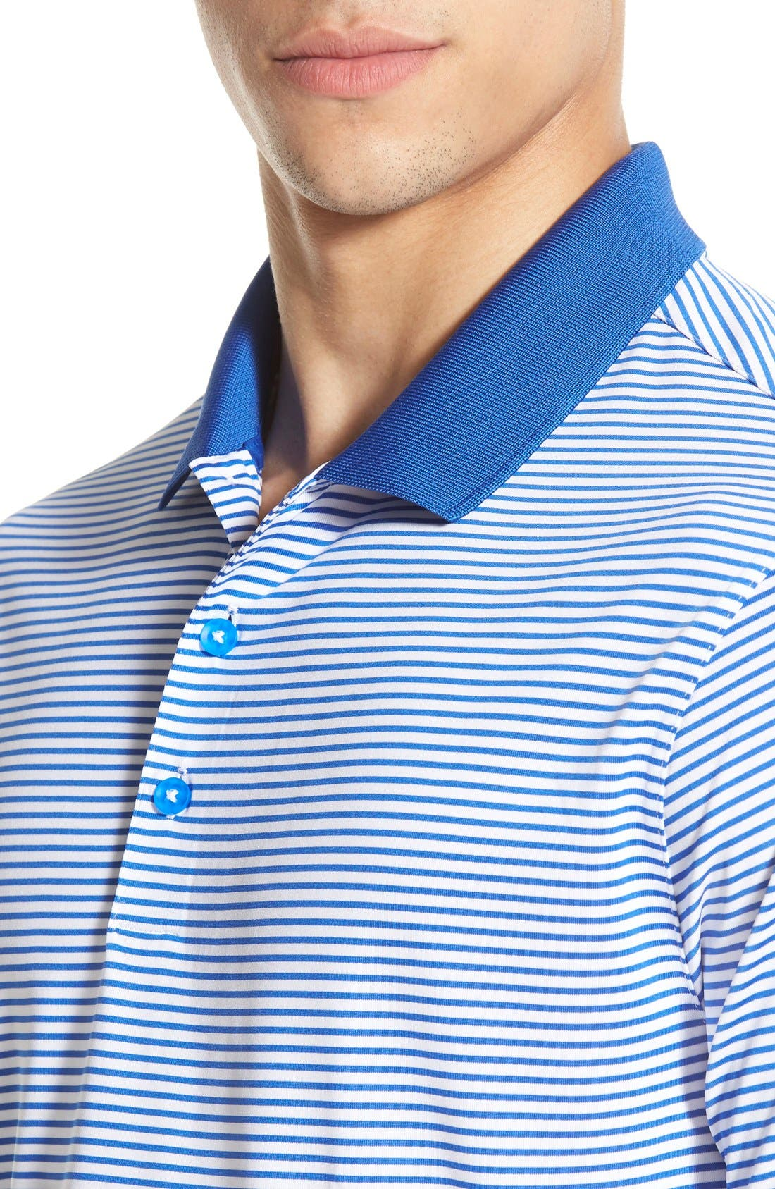 'Victory Stripe' Dri-FIT Golf Polo,                             Alternate thumbnail 28, color,