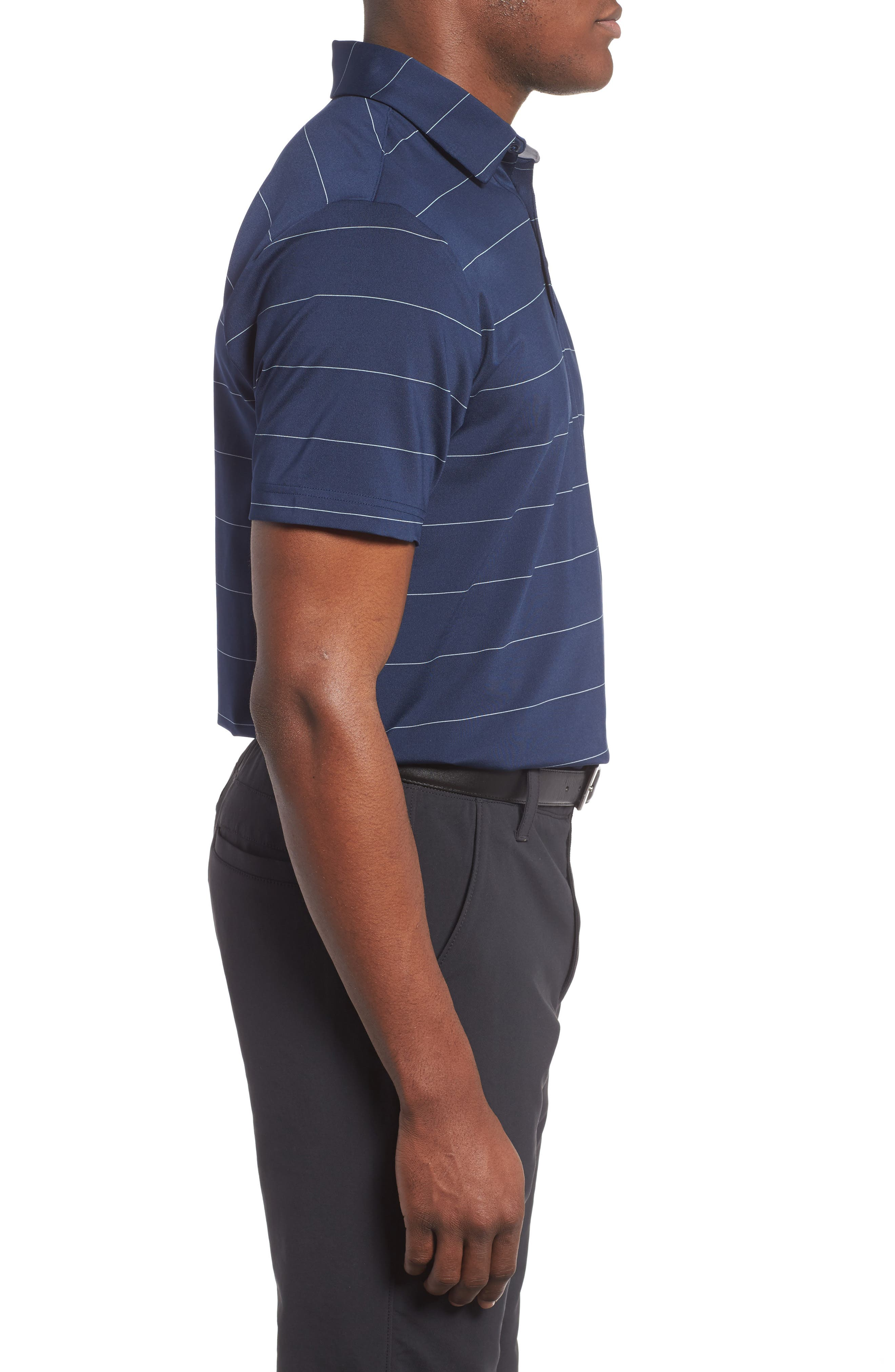 'Playoff' Loose Fit Short Sleeve Polo,                             Alternate thumbnail 149, color,