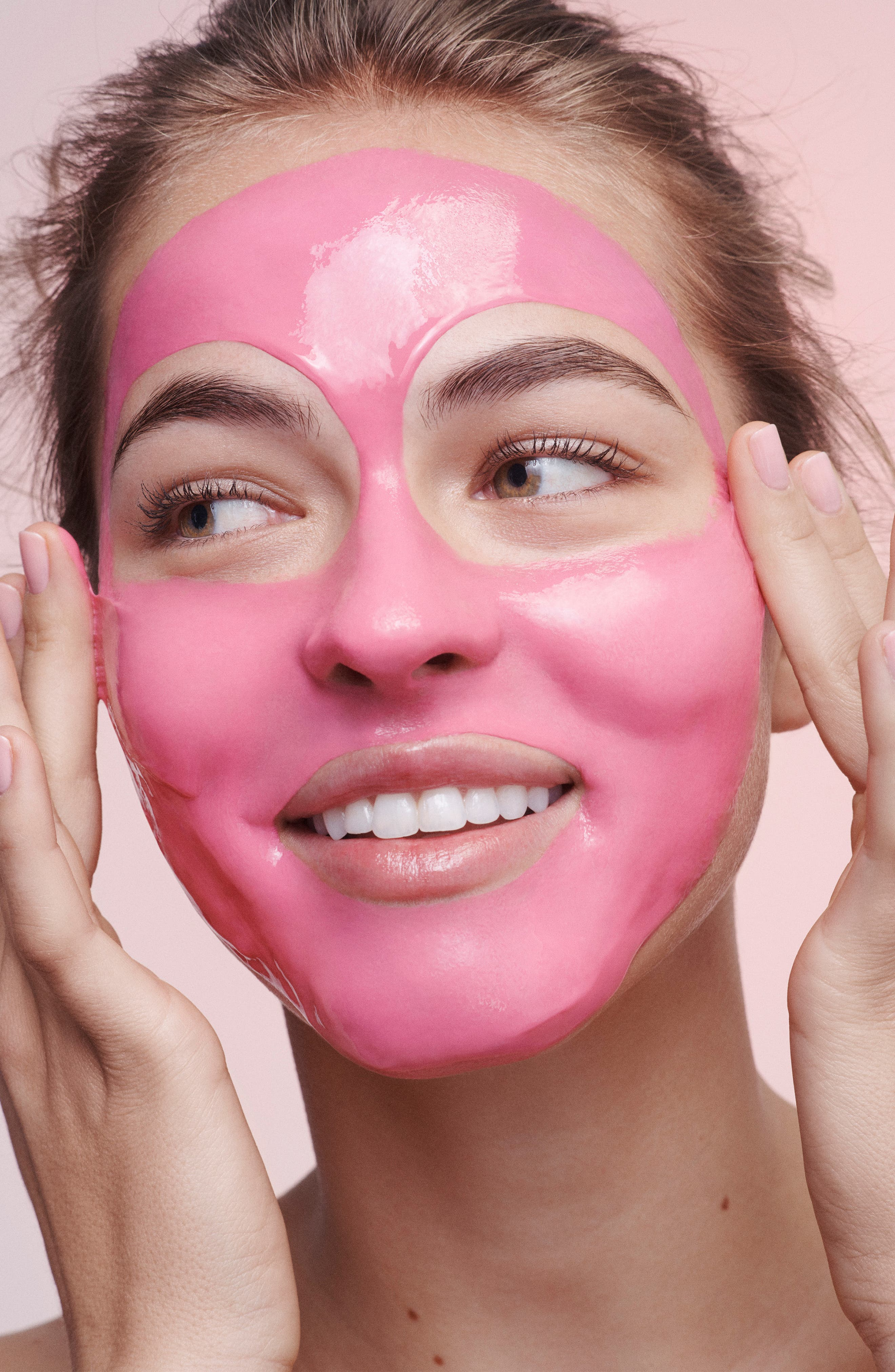 Luminizing Pink Mask,                             Alternate thumbnail 3, color,                             NO COLOR