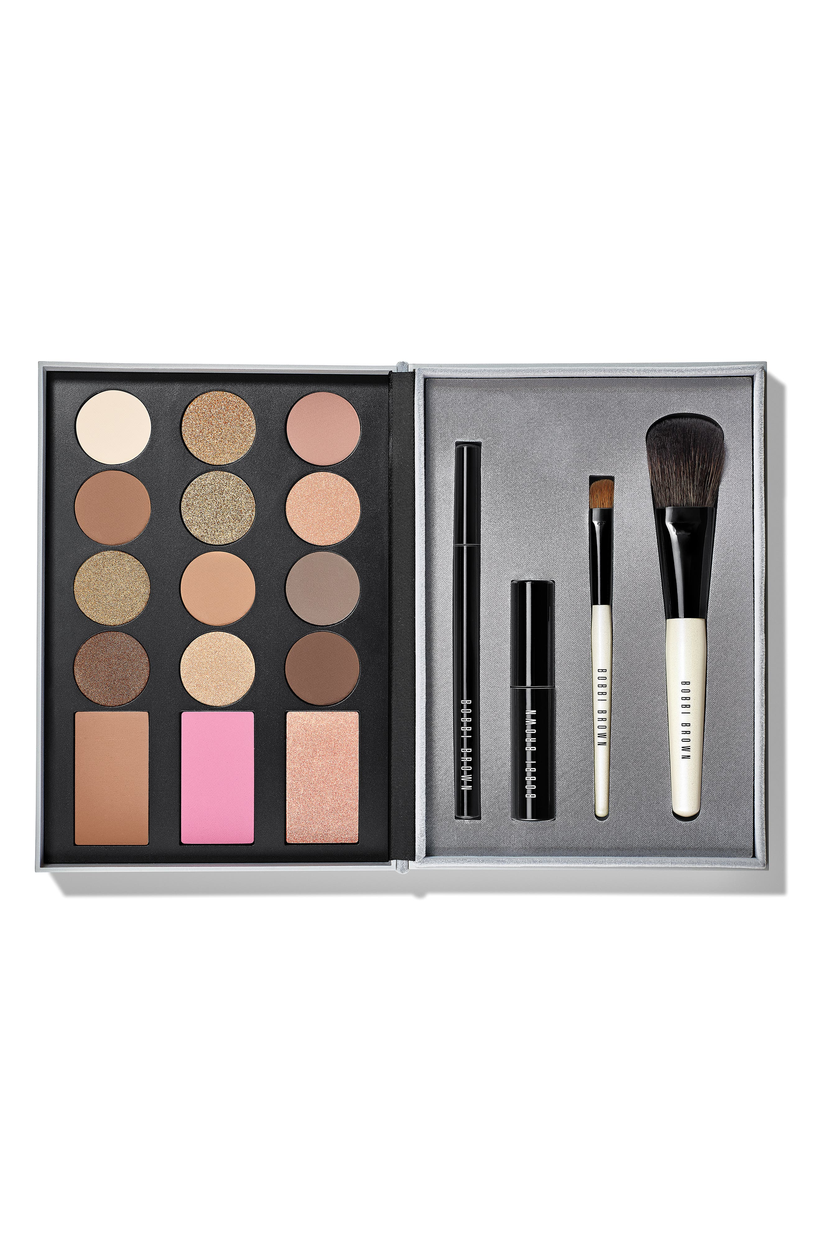 Ready, Set, Party Deluxe Eye & Cheek Palette,                             Main thumbnail 1, color,                             NO COLOR