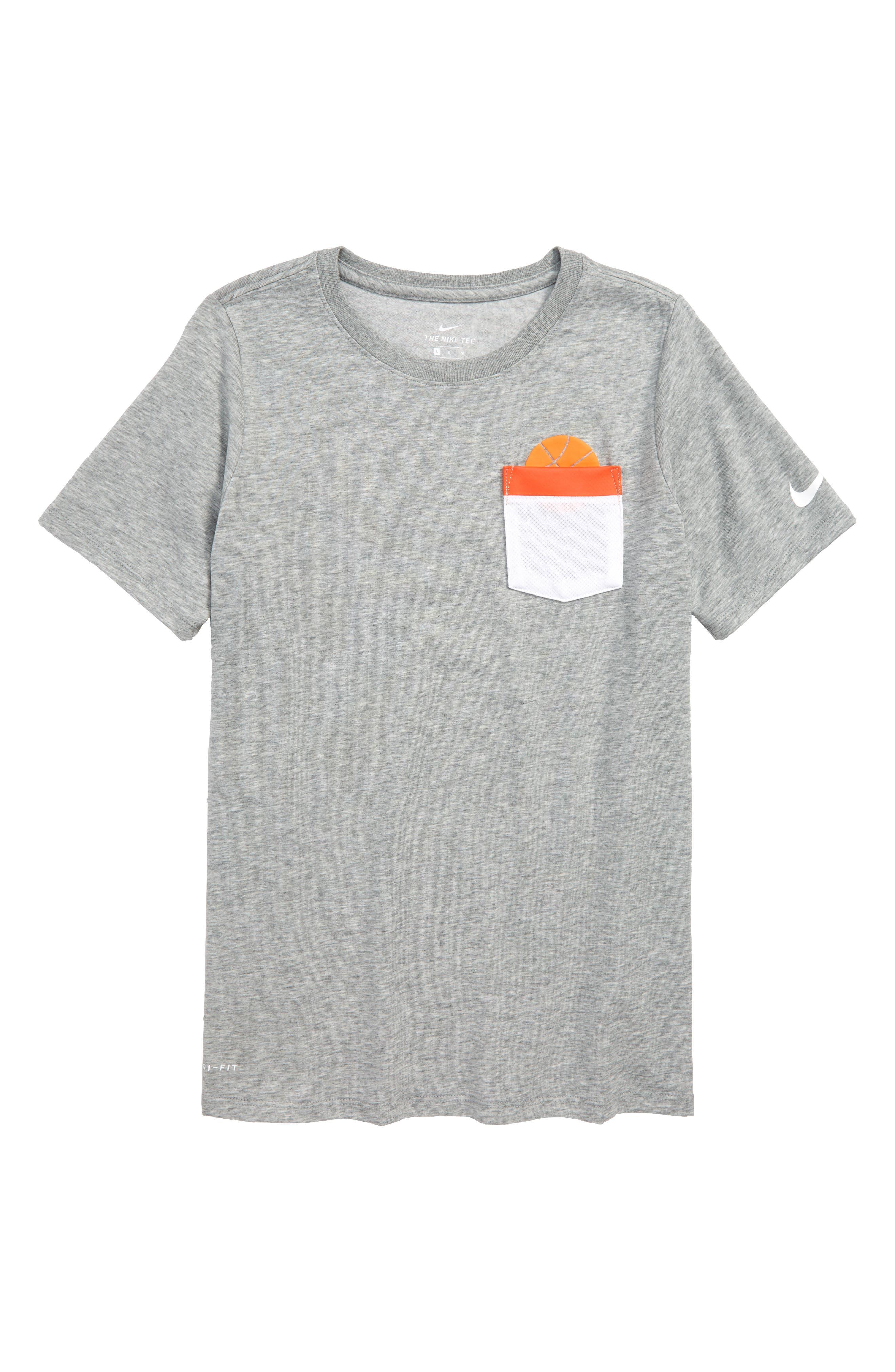 NIKE,                             Dry Graphic T-Shirt,                             Main thumbnail 1, color,                             063