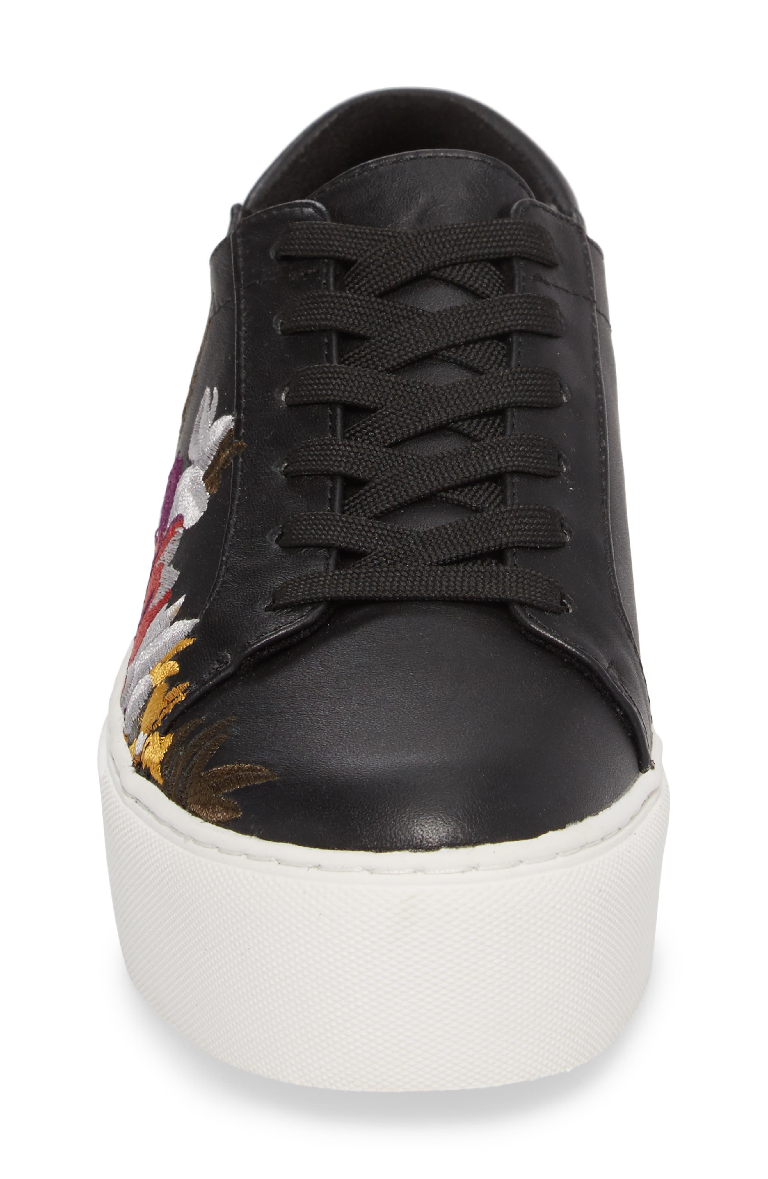 Abbey Platform Sneaker,                             Alternate thumbnail 4, color,                             002