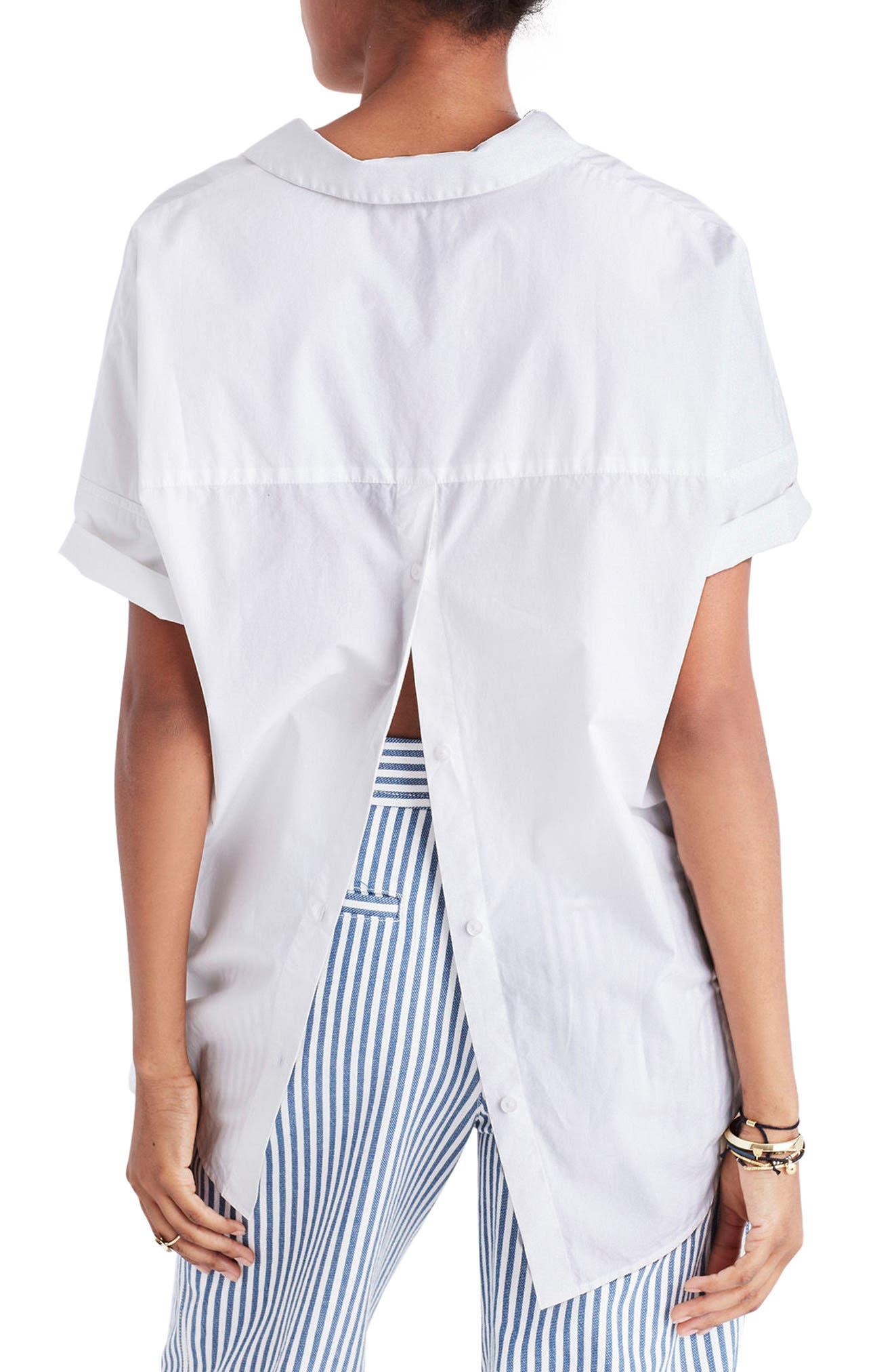 Courier Cotton Shirt,                             Alternate thumbnail 2, color,