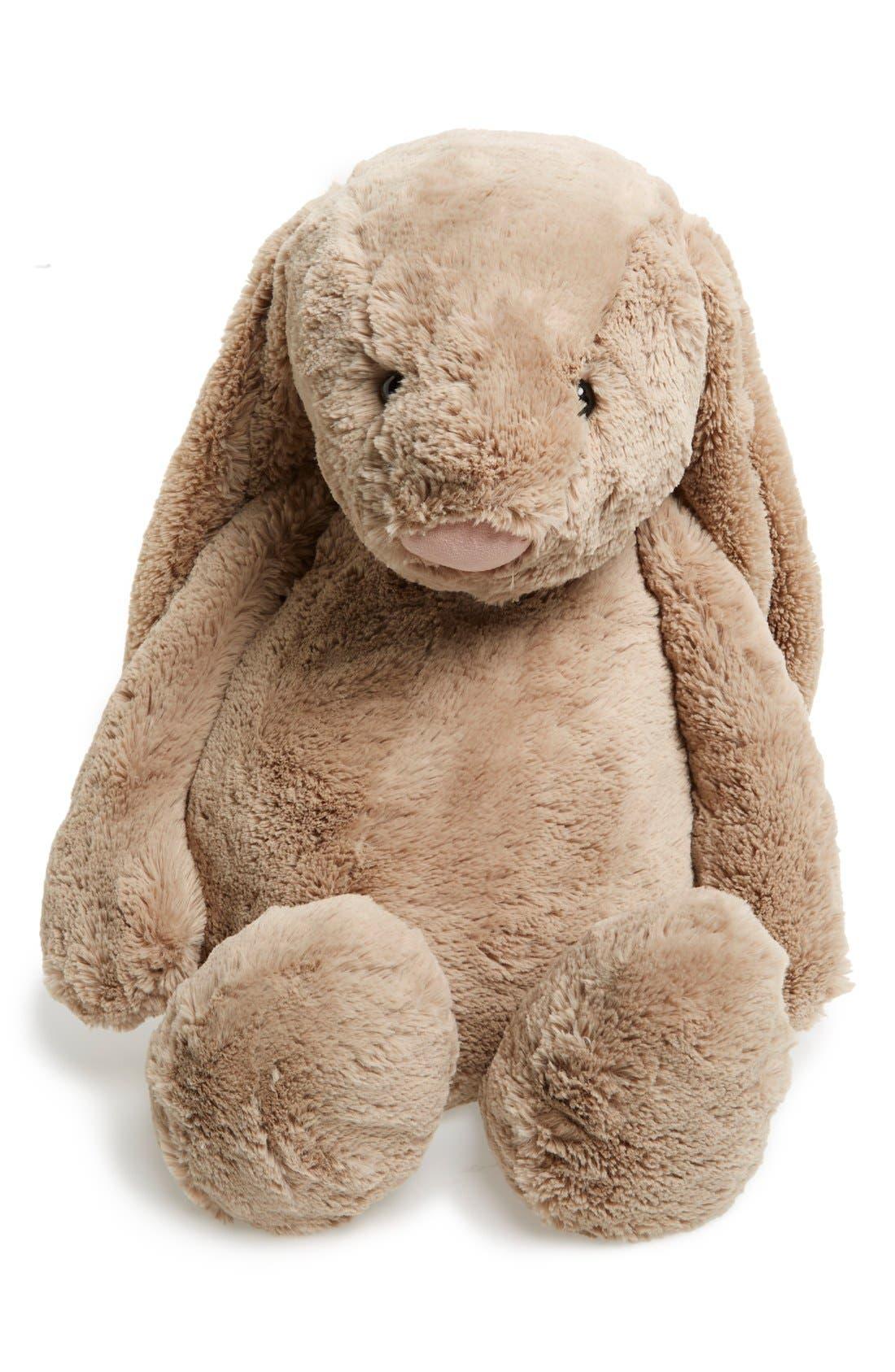 'Really Big Bashful Bunny' Stuffed Animal,                             Alternate thumbnail 3, color,                             BEIGE