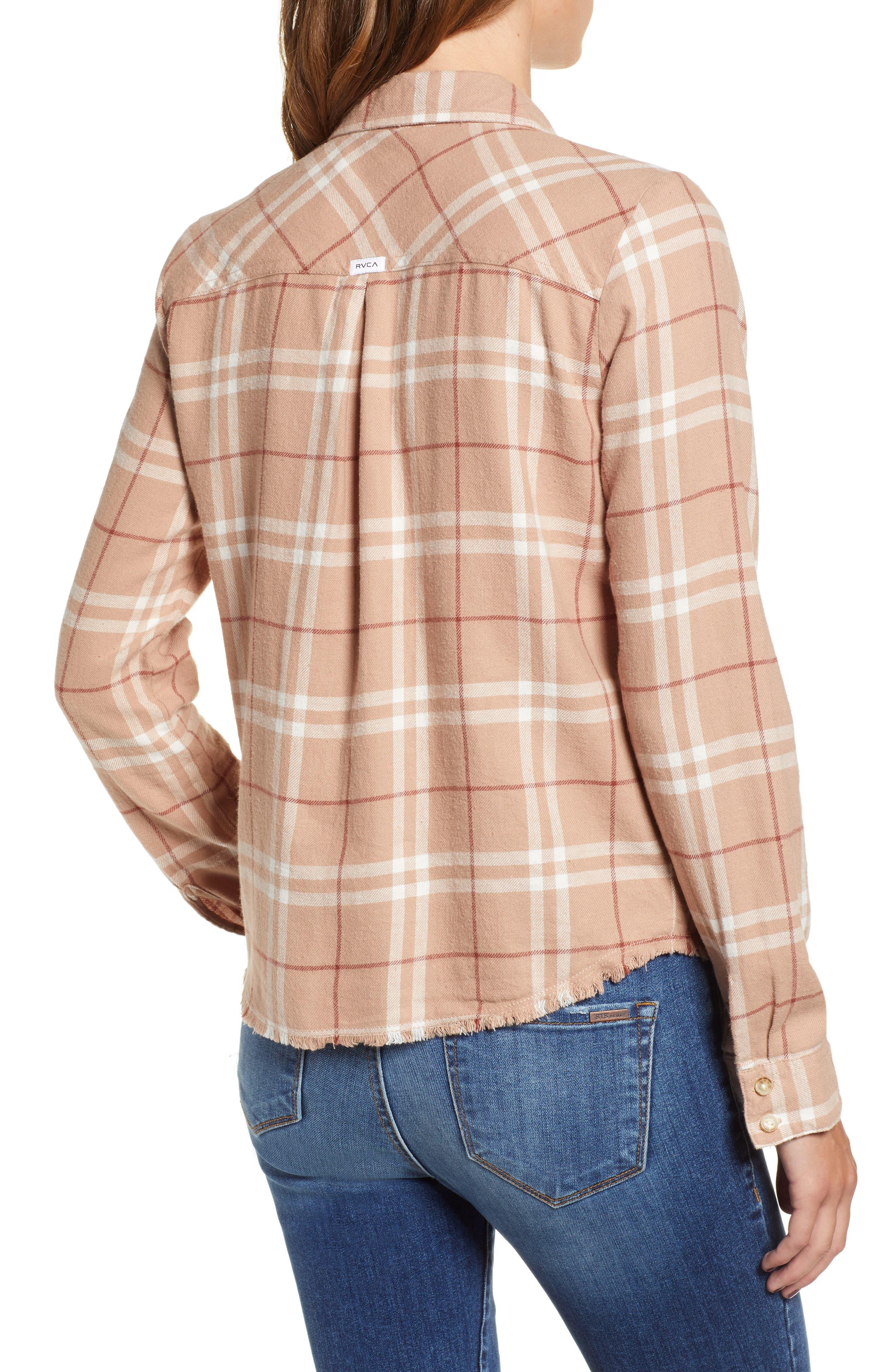 In a Haze Plaid Cotton Shirt,                             Alternate thumbnail 2, color,                             020