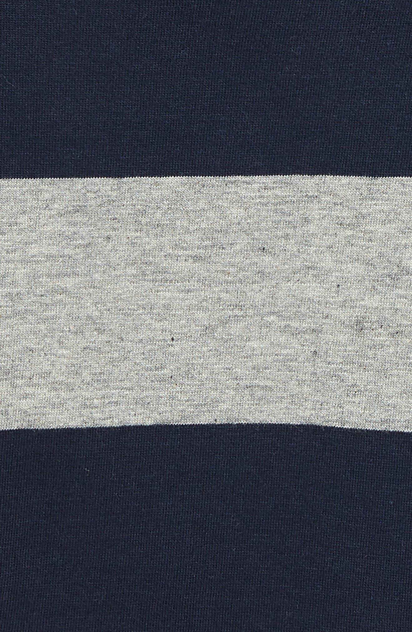 Organic Cotton T-Shirt,                             Alternate thumbnail 2, color,                             MIDNIGHT