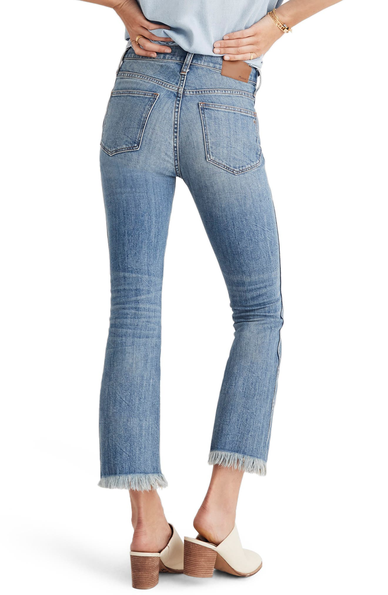 Cali Demi Boot Jeans,                             Alternate thumbnail 2, color,                             HENEY