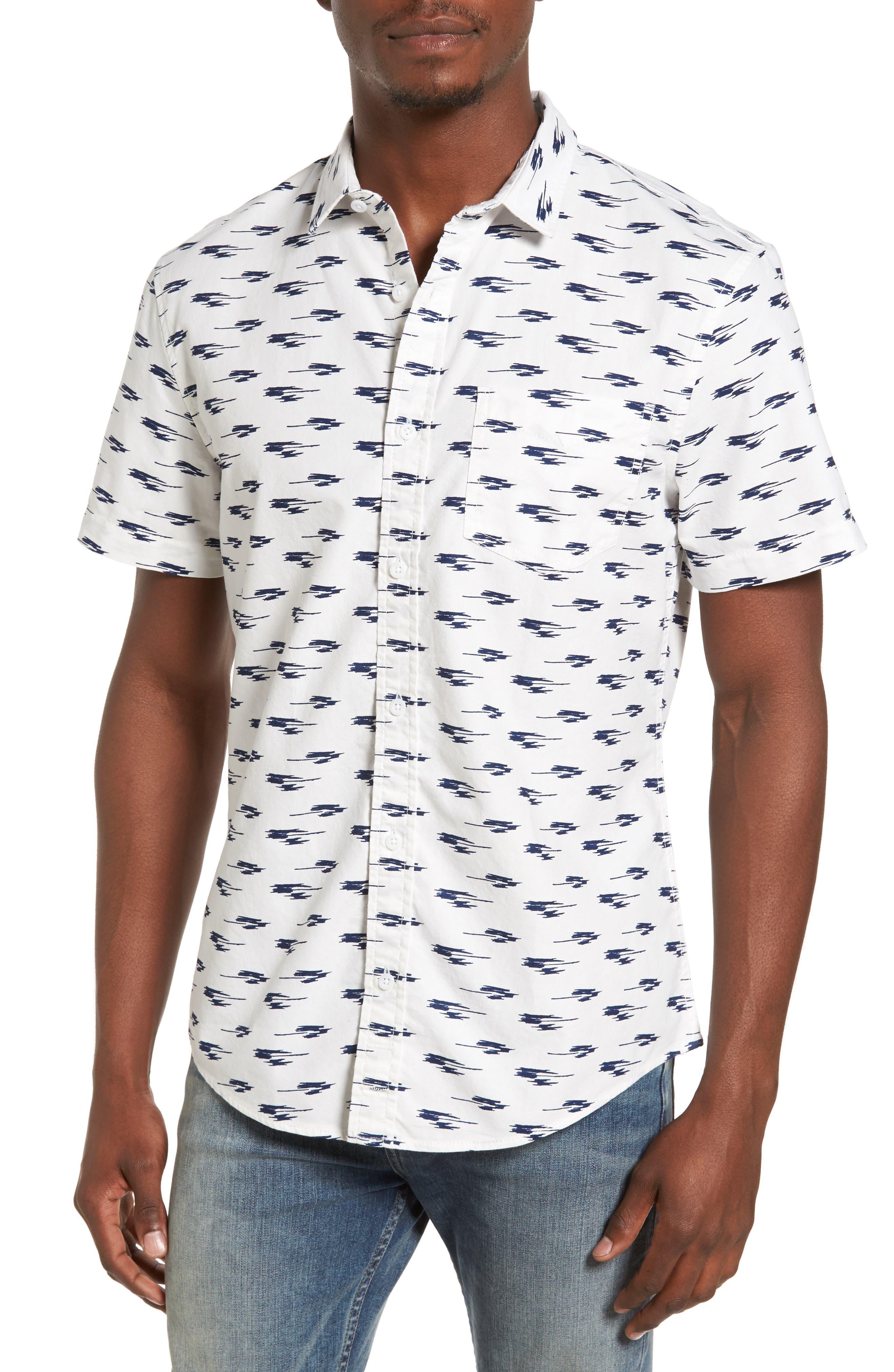 Ikat Oxford Shirt,                             Main thumbnail 1, color,