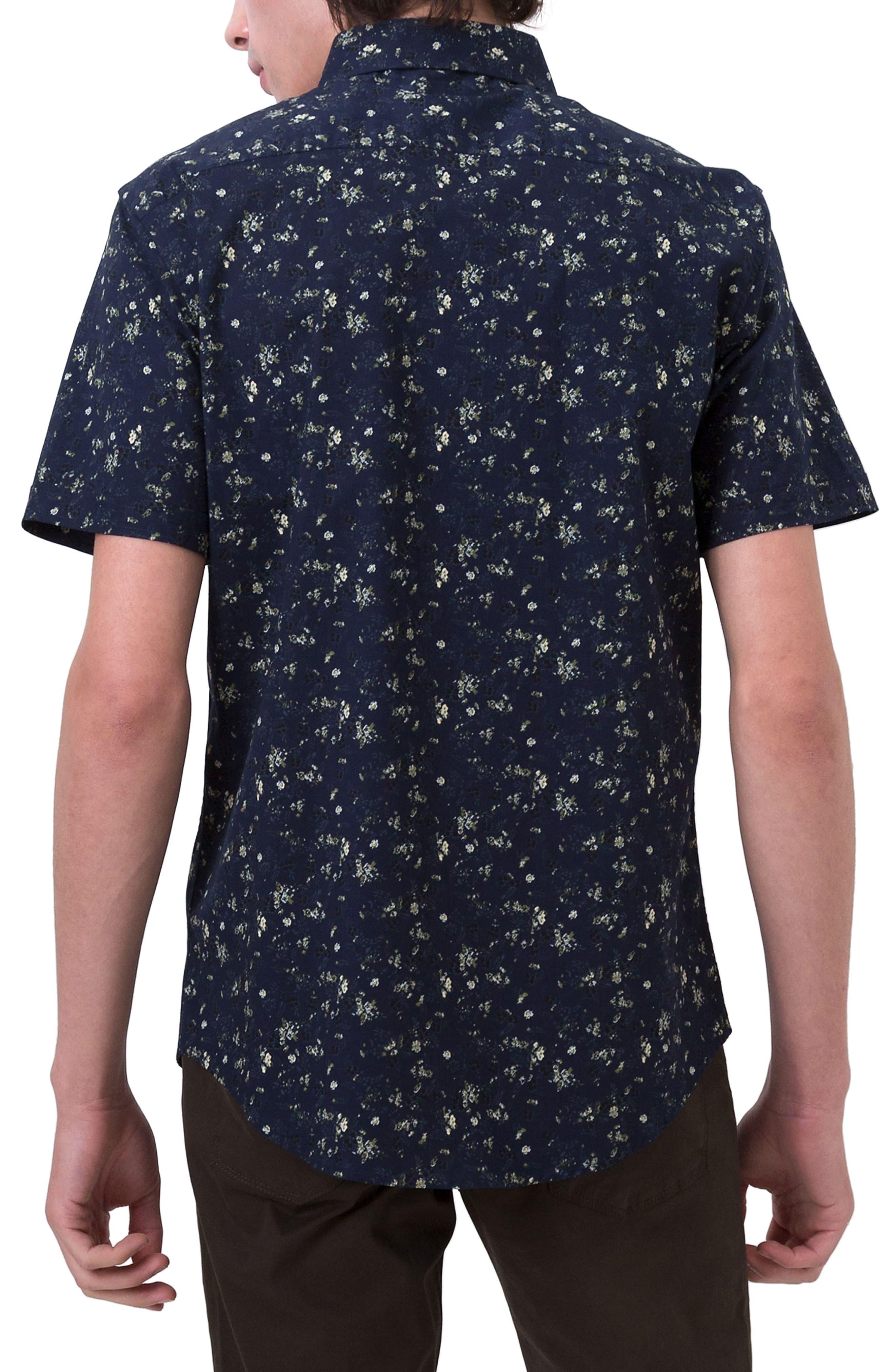 Jungle Youth Trim Fit Short Sleeve Sport Shirt,                             Alternate thumbnail 2, color,                             410