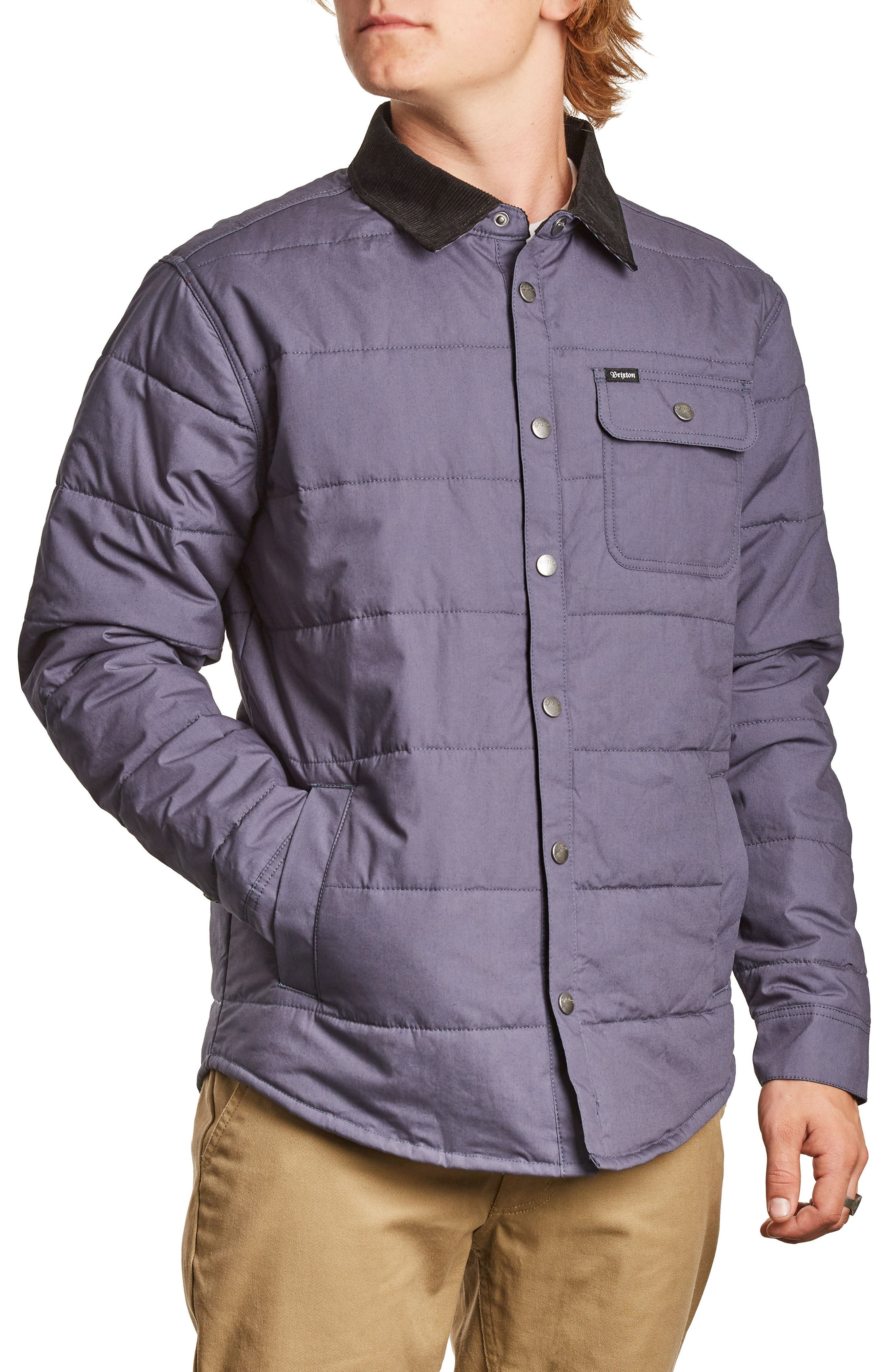 'Cass' Quilted Jacket,                             Alternate thumbnail 34, color,