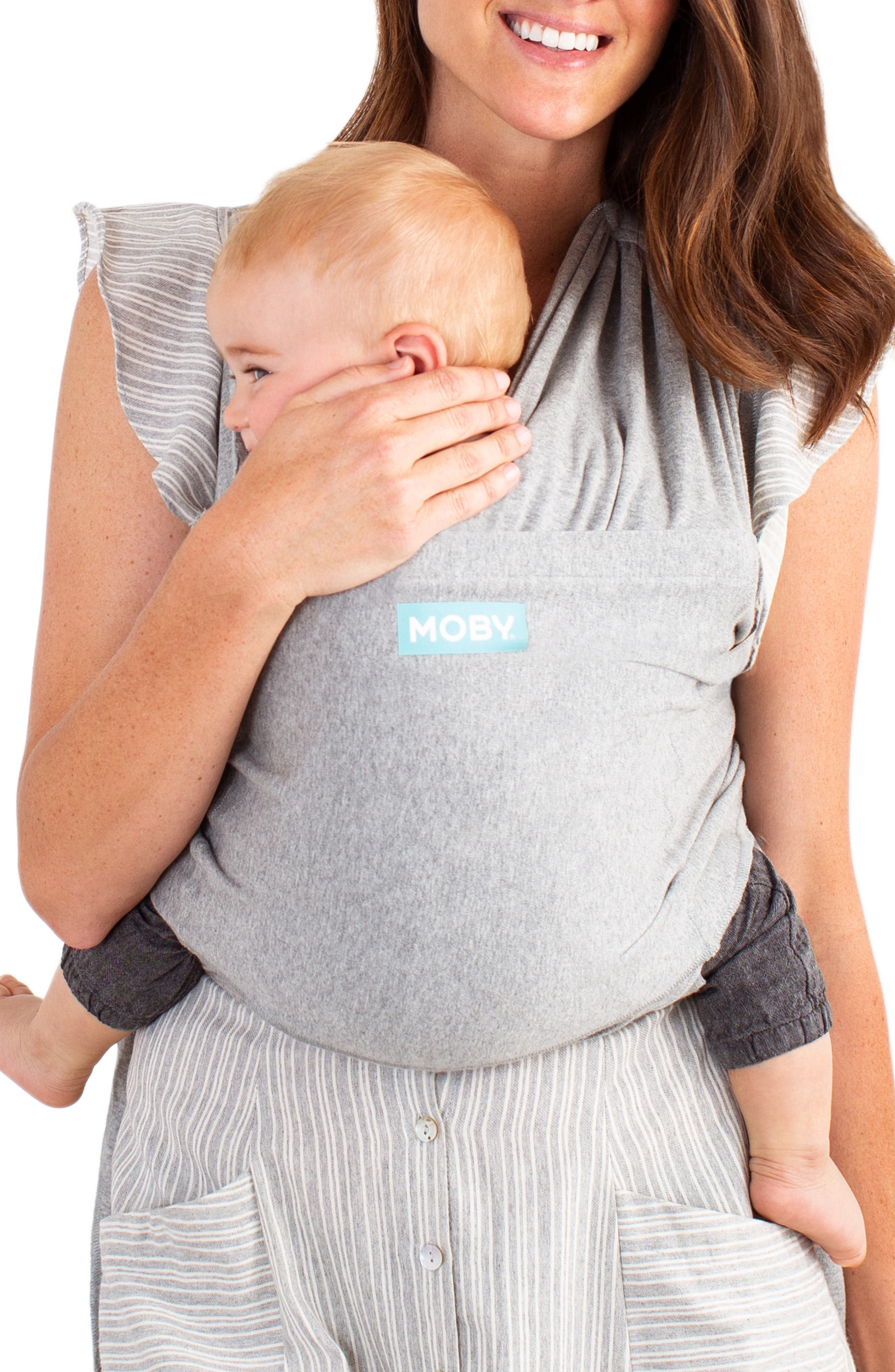 Infant Moby Fit Hybrid Baby Carrier Size One Size  Grey