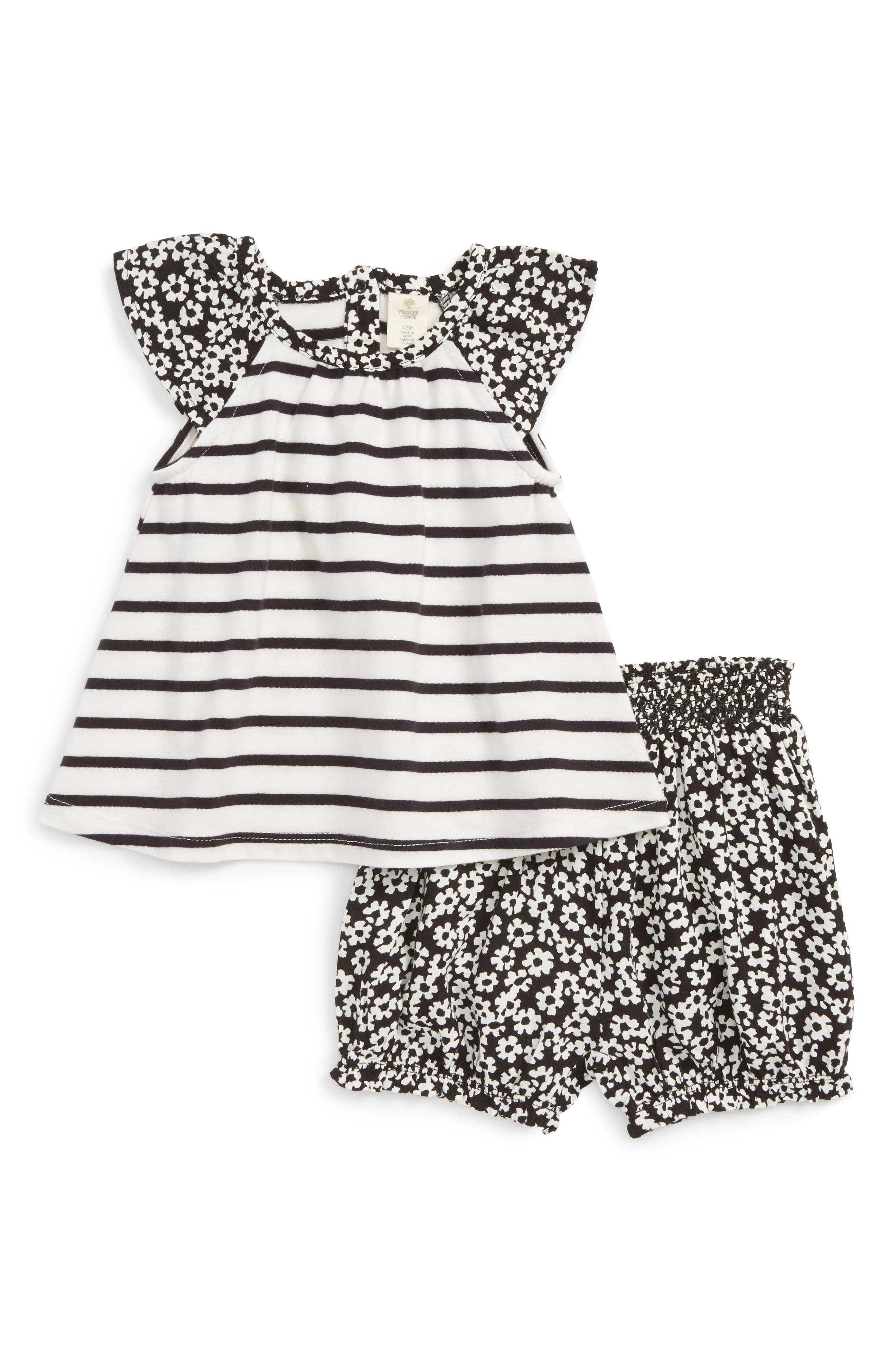 Tee & Shorts Set,                         Main,                         color, 900