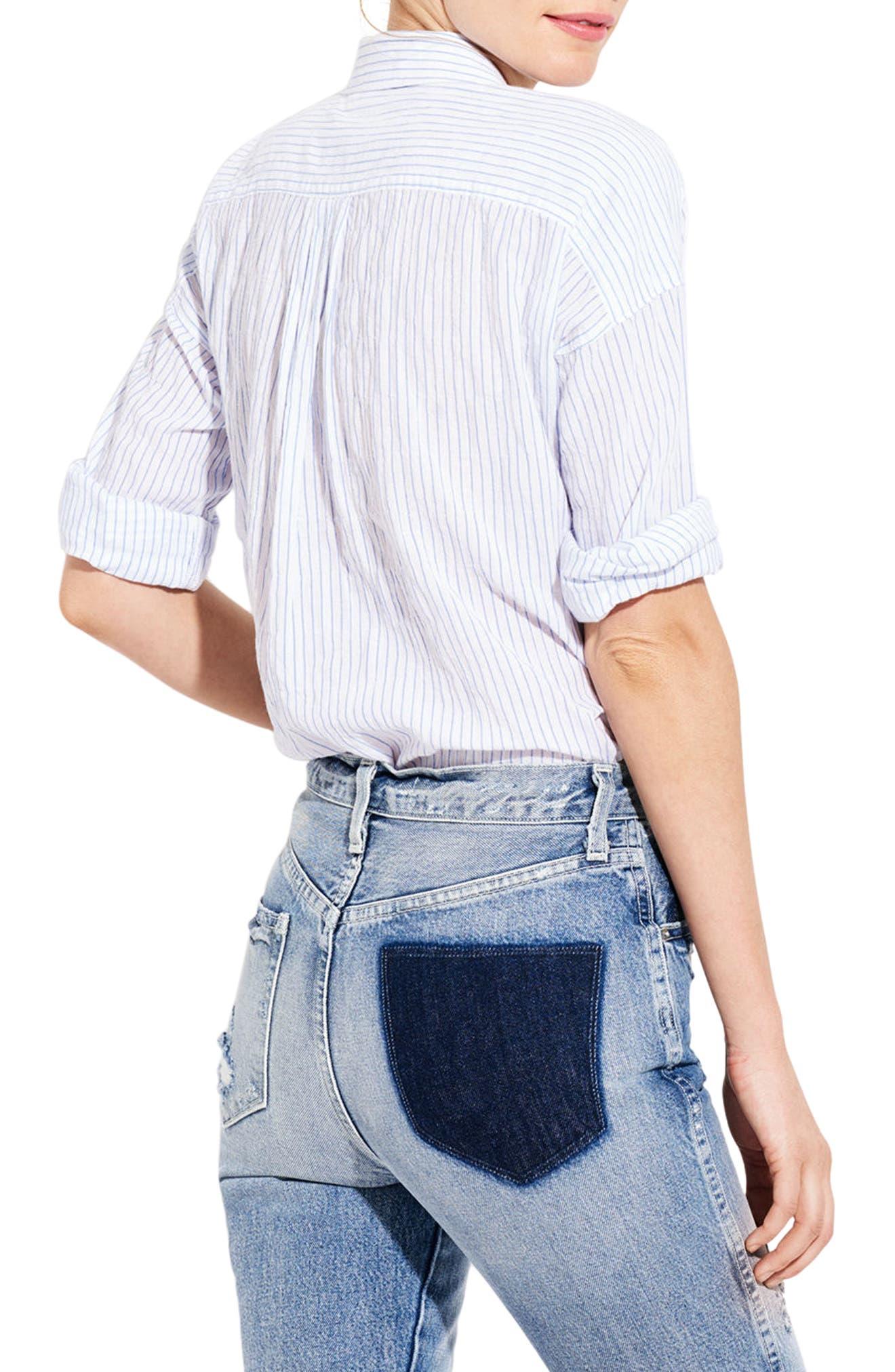 The Biz Stripe Shirt,                             Alternate thumbnail 2, color,                             111