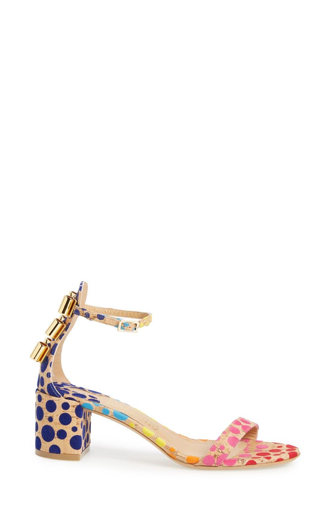 x Edgardo Osorio 'Connie' Ankle Strap Sandal,                             Alternate thumbnail 2, color,                             250