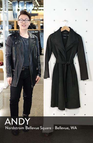 Elliot Long Wrap Coat, sales video thumbnail