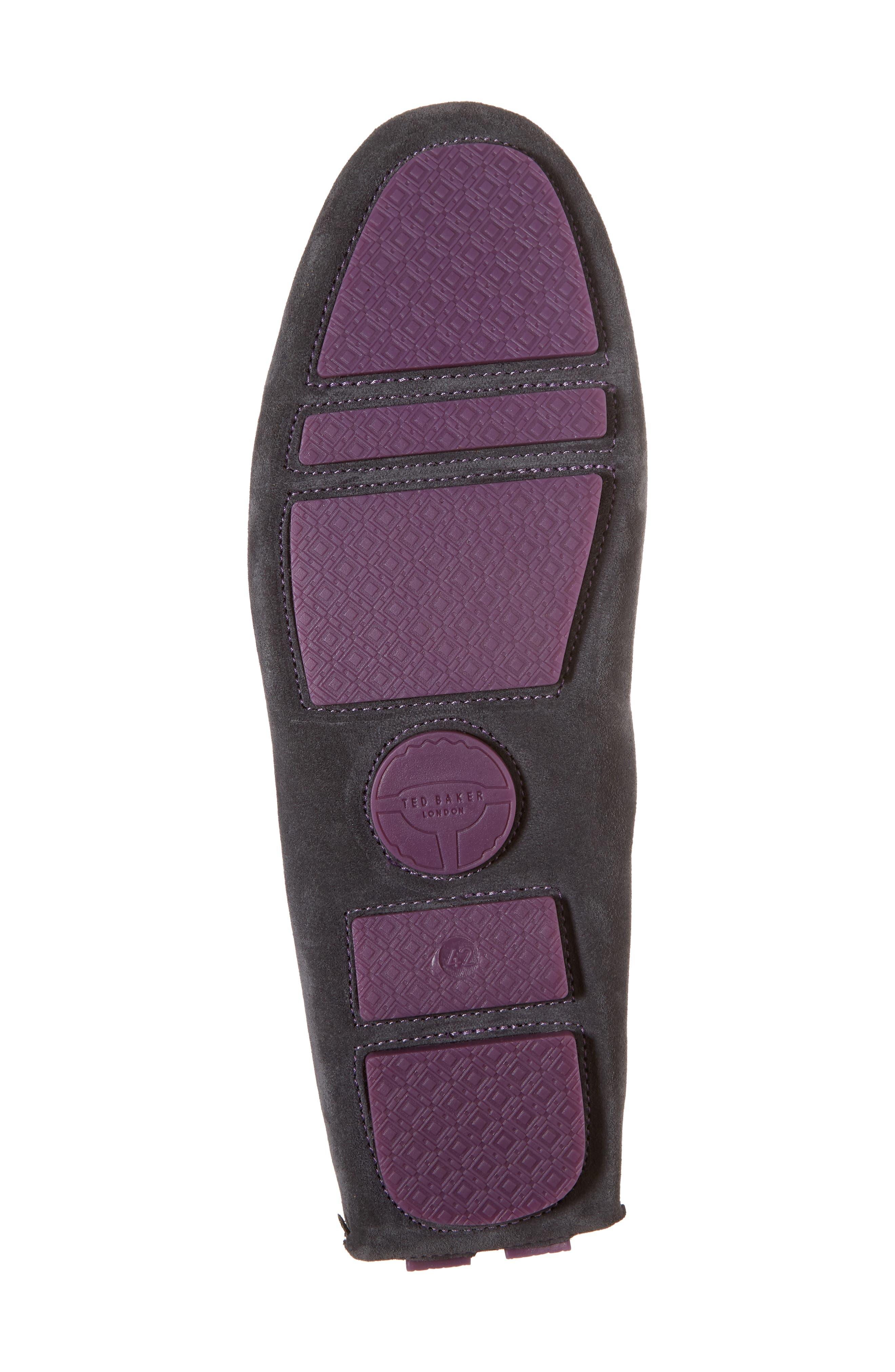 Urbonns Tasseled Driving Loafer,                             Alternate thumbnail 6, color,                             070