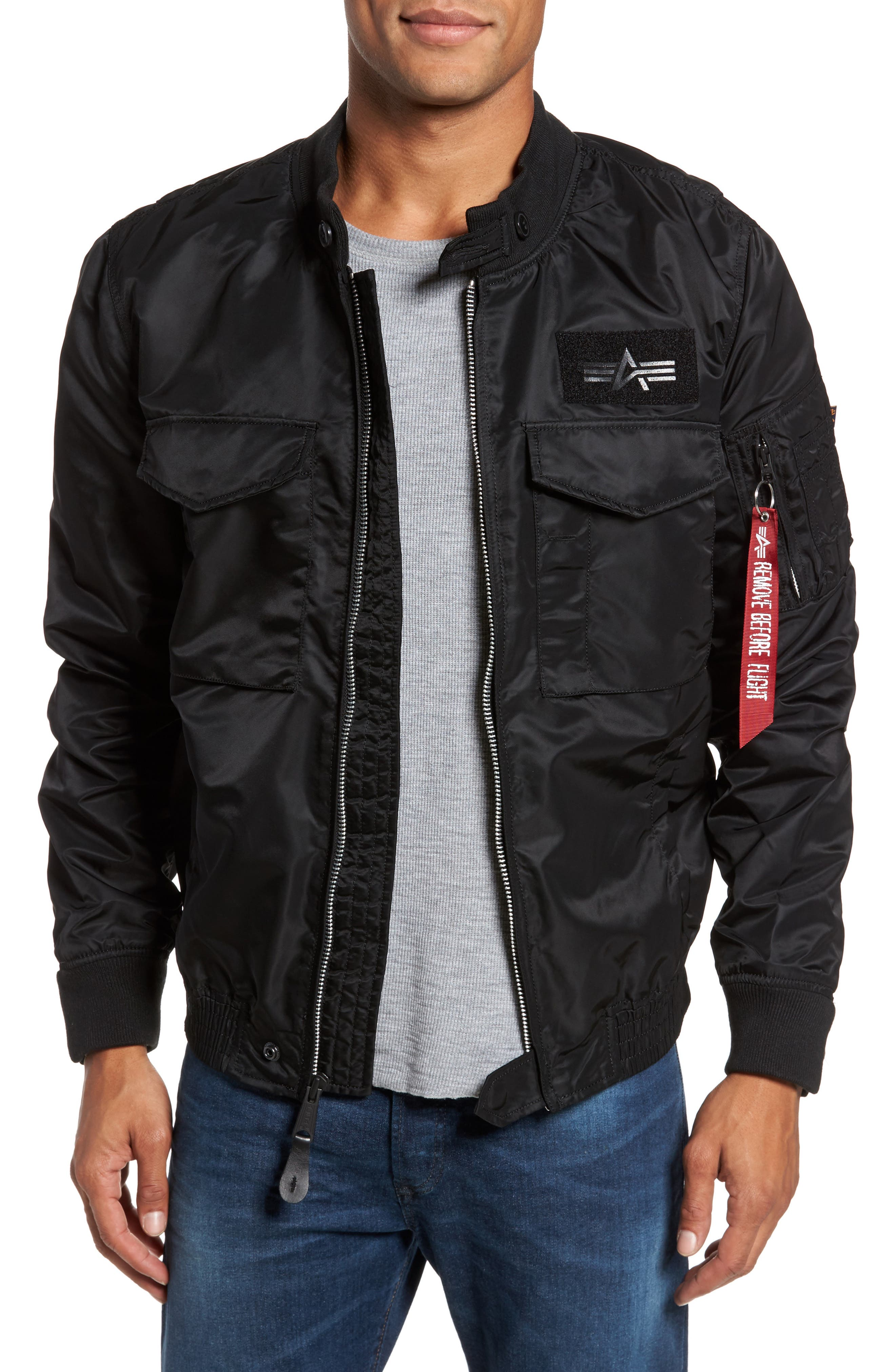 Weps Mod Jacket,                             Main thumbnail 1, color,                             001