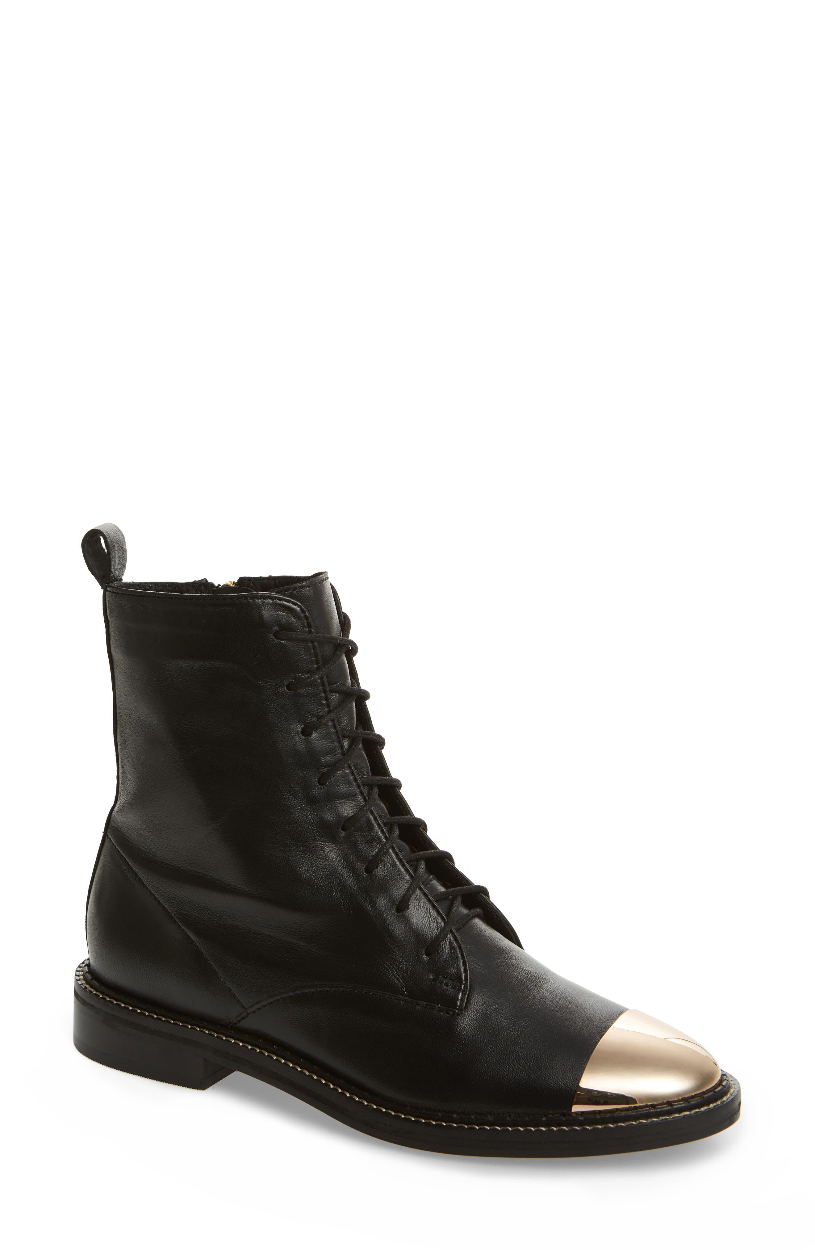 Axel Cap Toe Boot, Main, color, 001