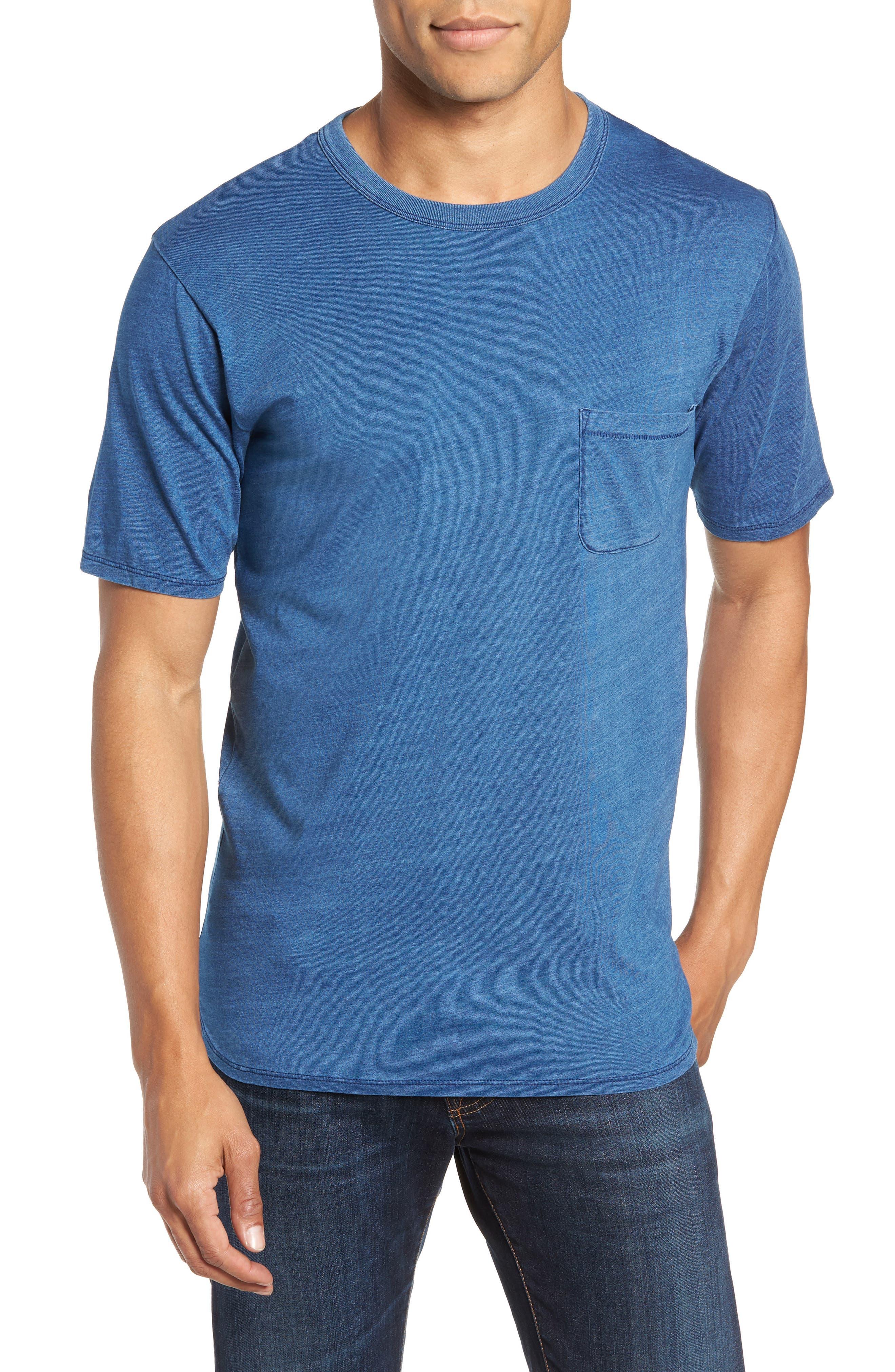 Split Hem Crewneck T-Shirt,                             Main thumbnail 1, color,                             432