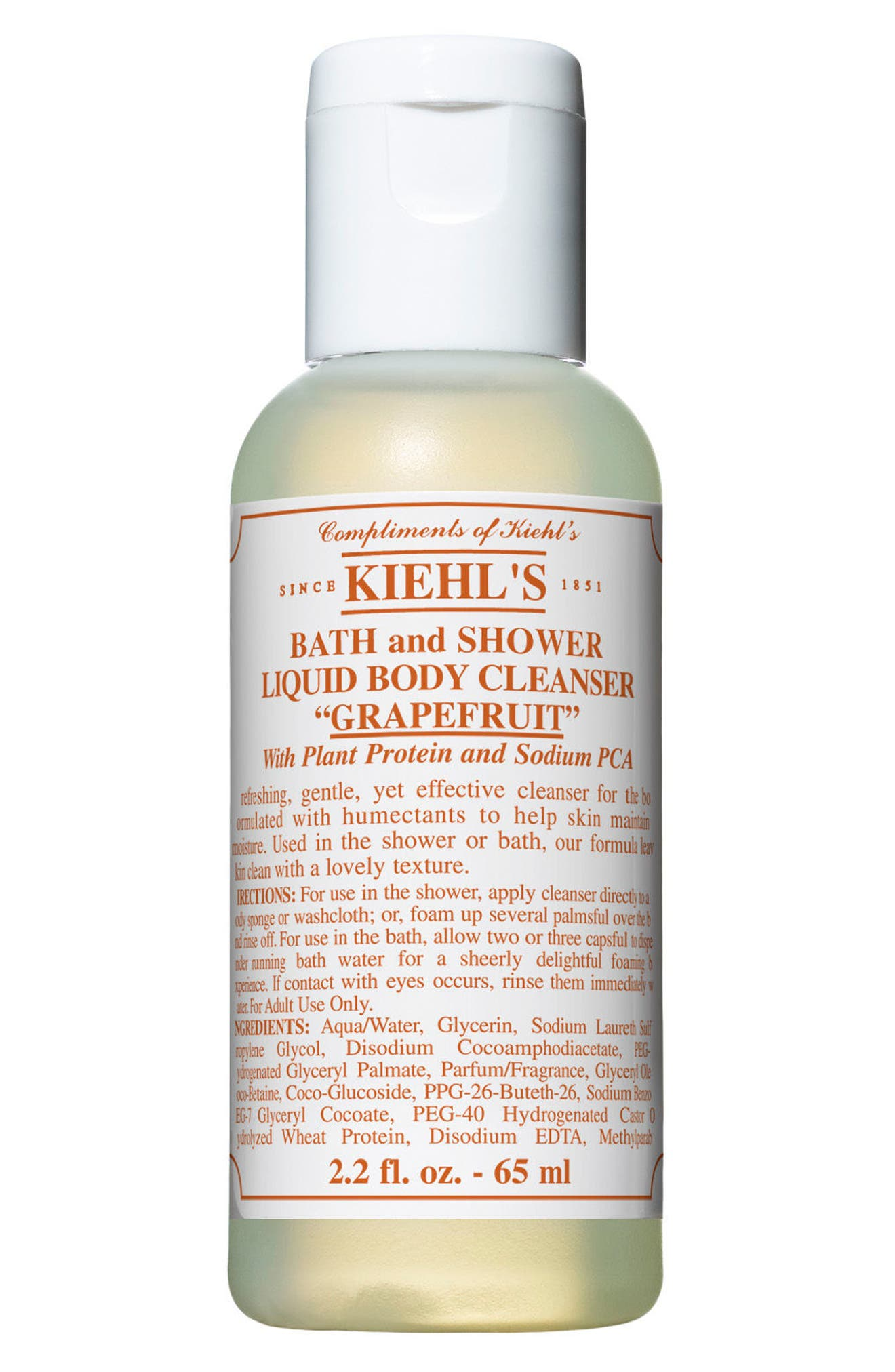 Grapefruit Bath & Shower Liquid Body Cleanser,                             Alternate thumbnail 3, color,                             000