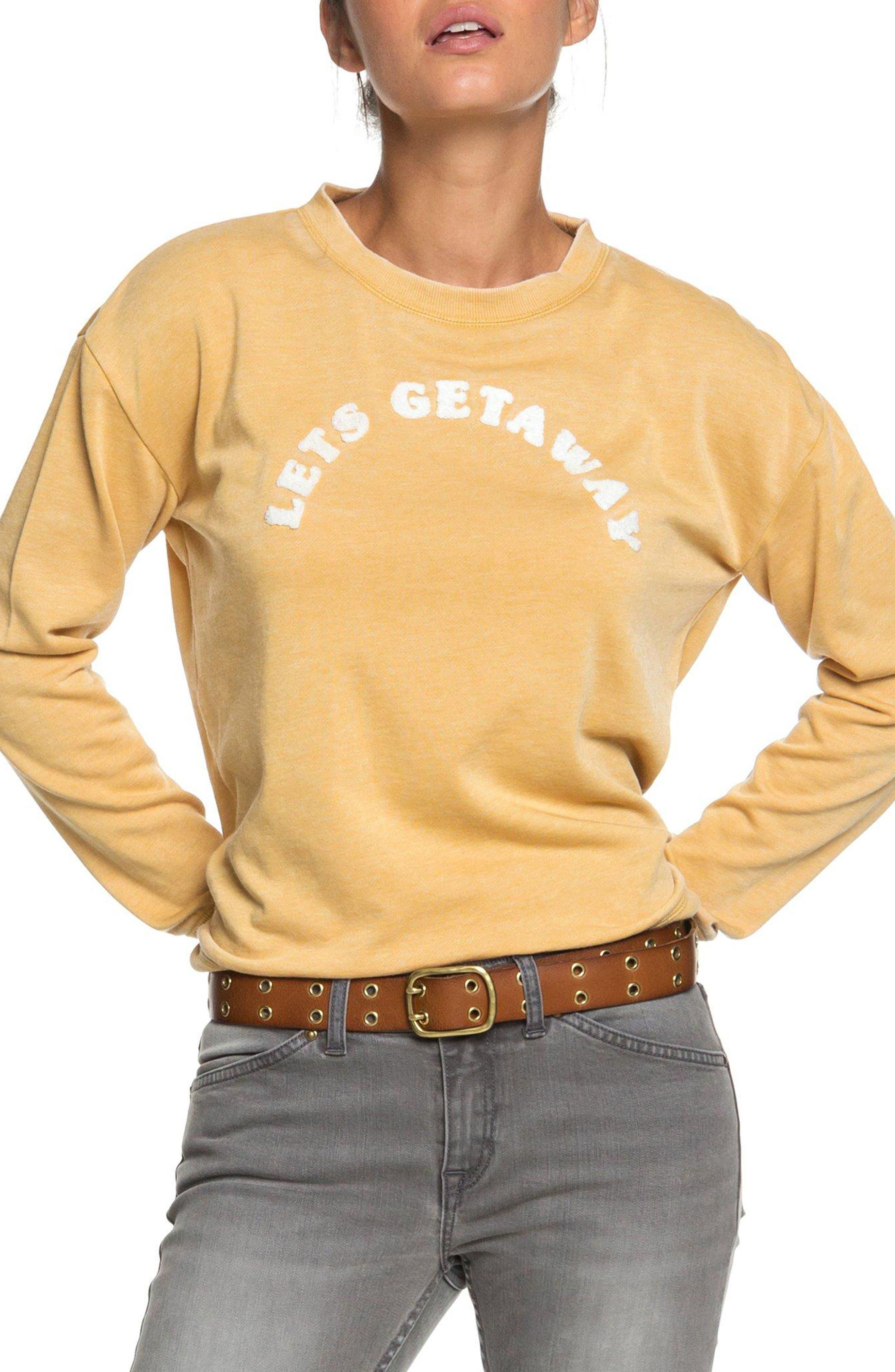 All At Sea Sweatshirt,                             Alternate thumbnail 5, color,                             FALL LEAF