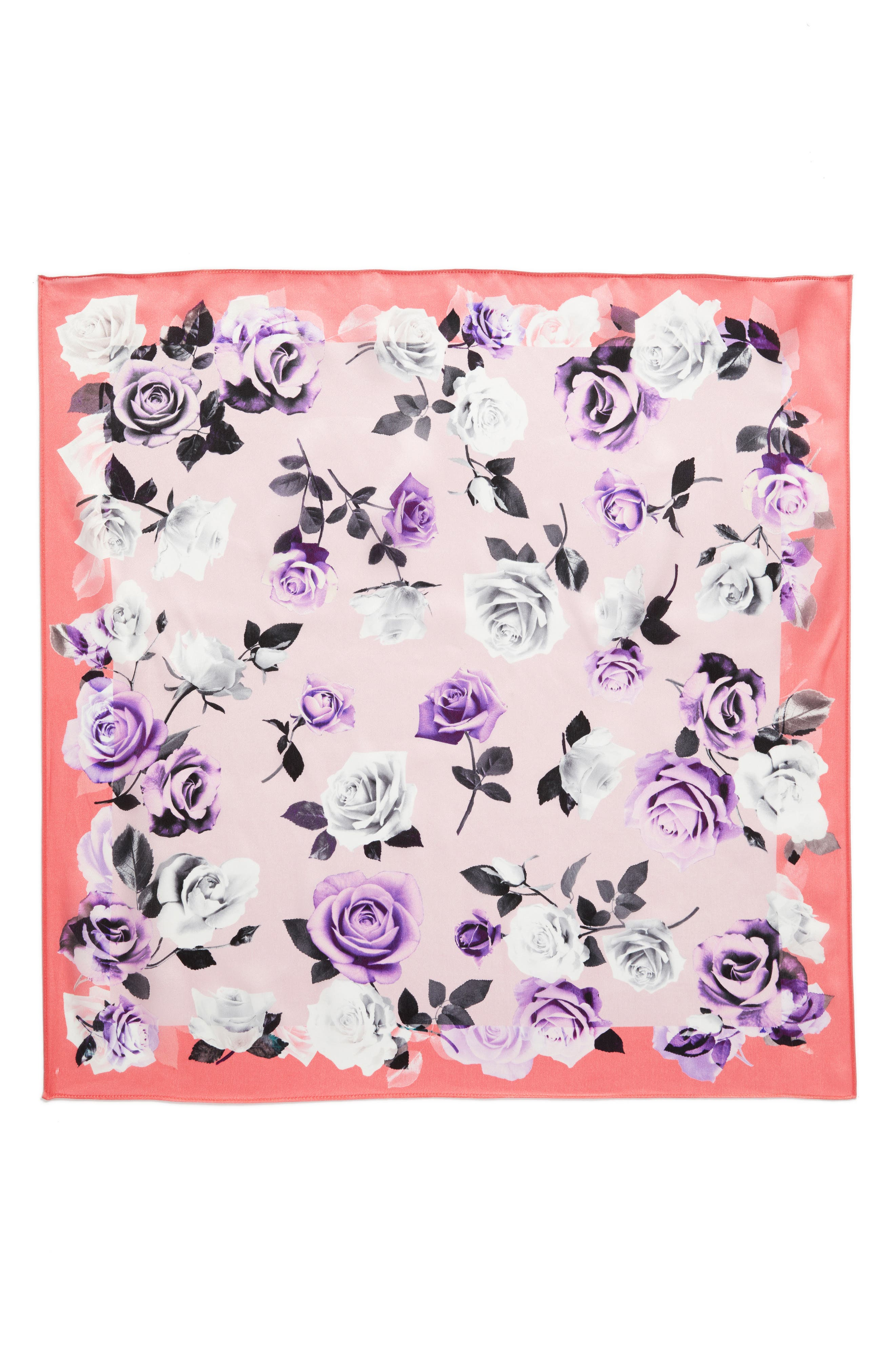 Print Silk Scarf,                             Alternate thumbnail 23, color,