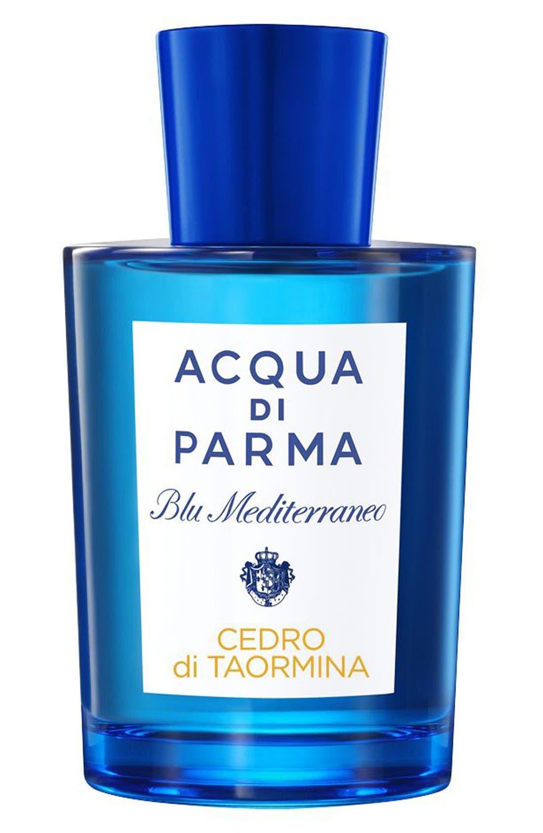 Blu Mediterraneo Cedro di Taormina Eau de Toilette,                             Main thumbnail 1, color,                             NO COLOR