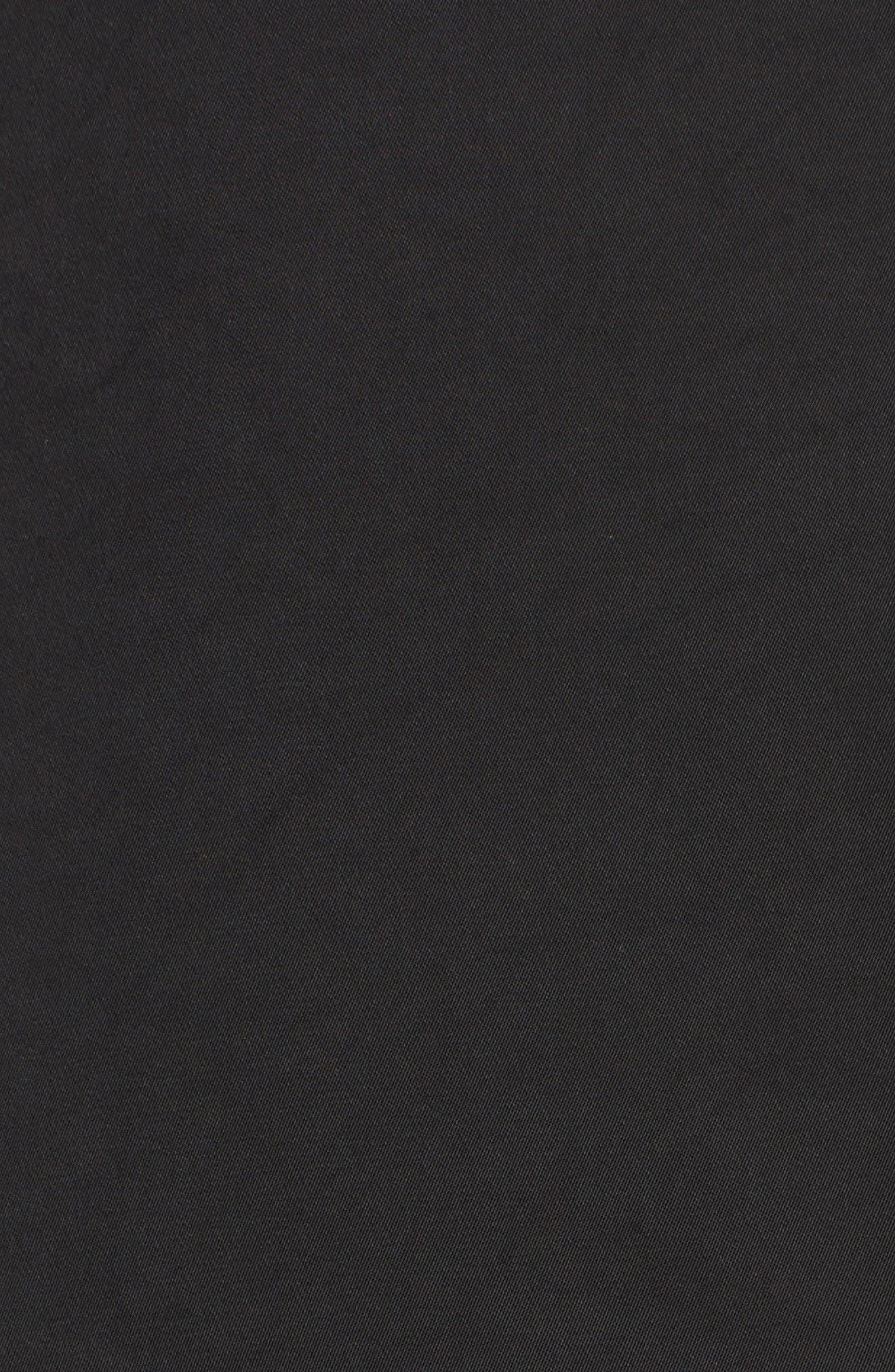 L'Academie The Harper Choker Blouse,                             Alternate thumbnail 5, color,                             002