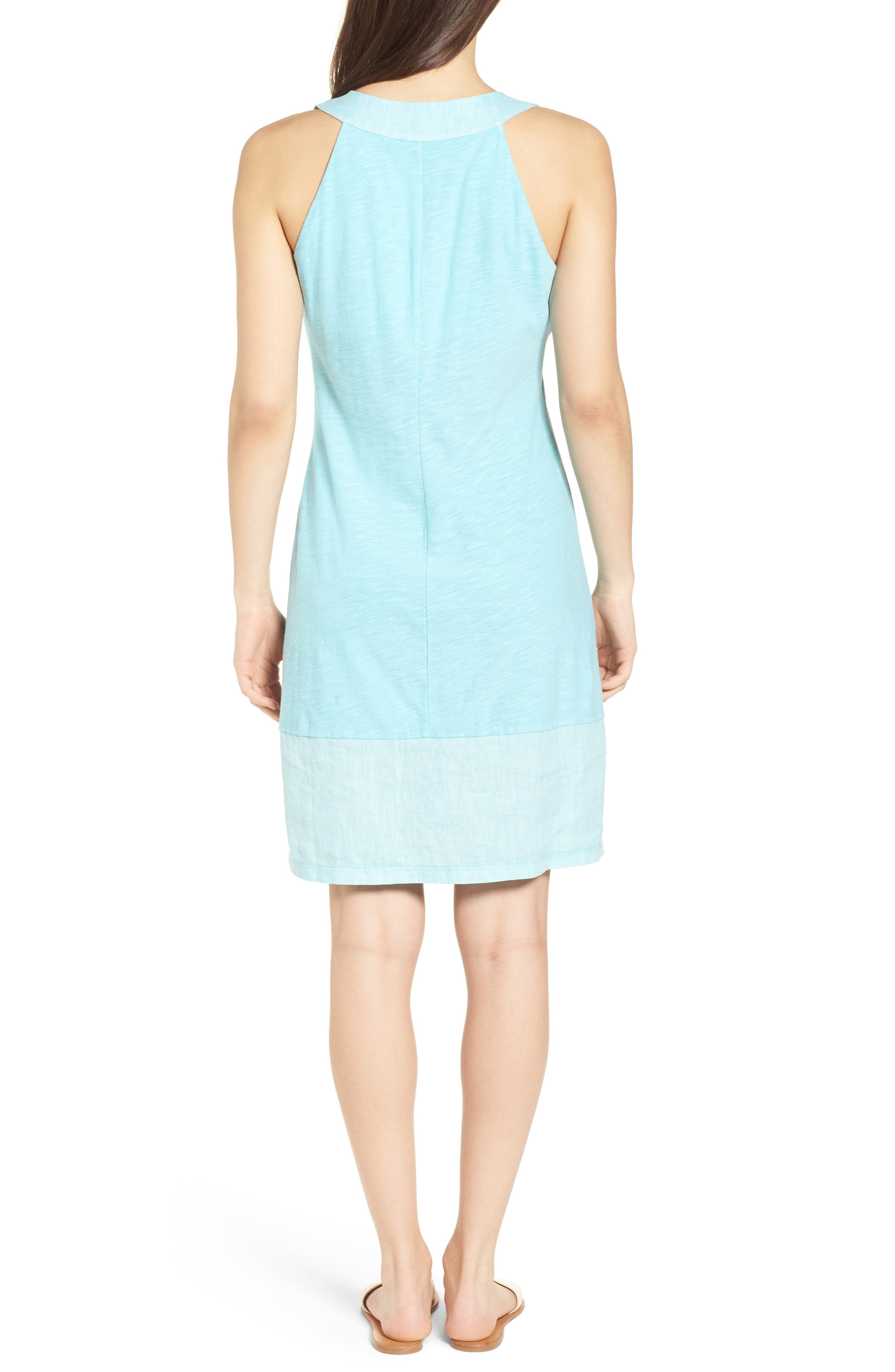 Arden Shift Dress,                             Alternate thumbnail 2, color,                             BLUE RADIANCE