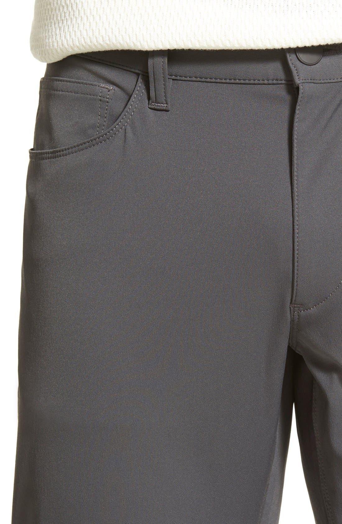 'Raffi' Slim Fit Pants,                             Alternate thumbnail 4, color,                             021