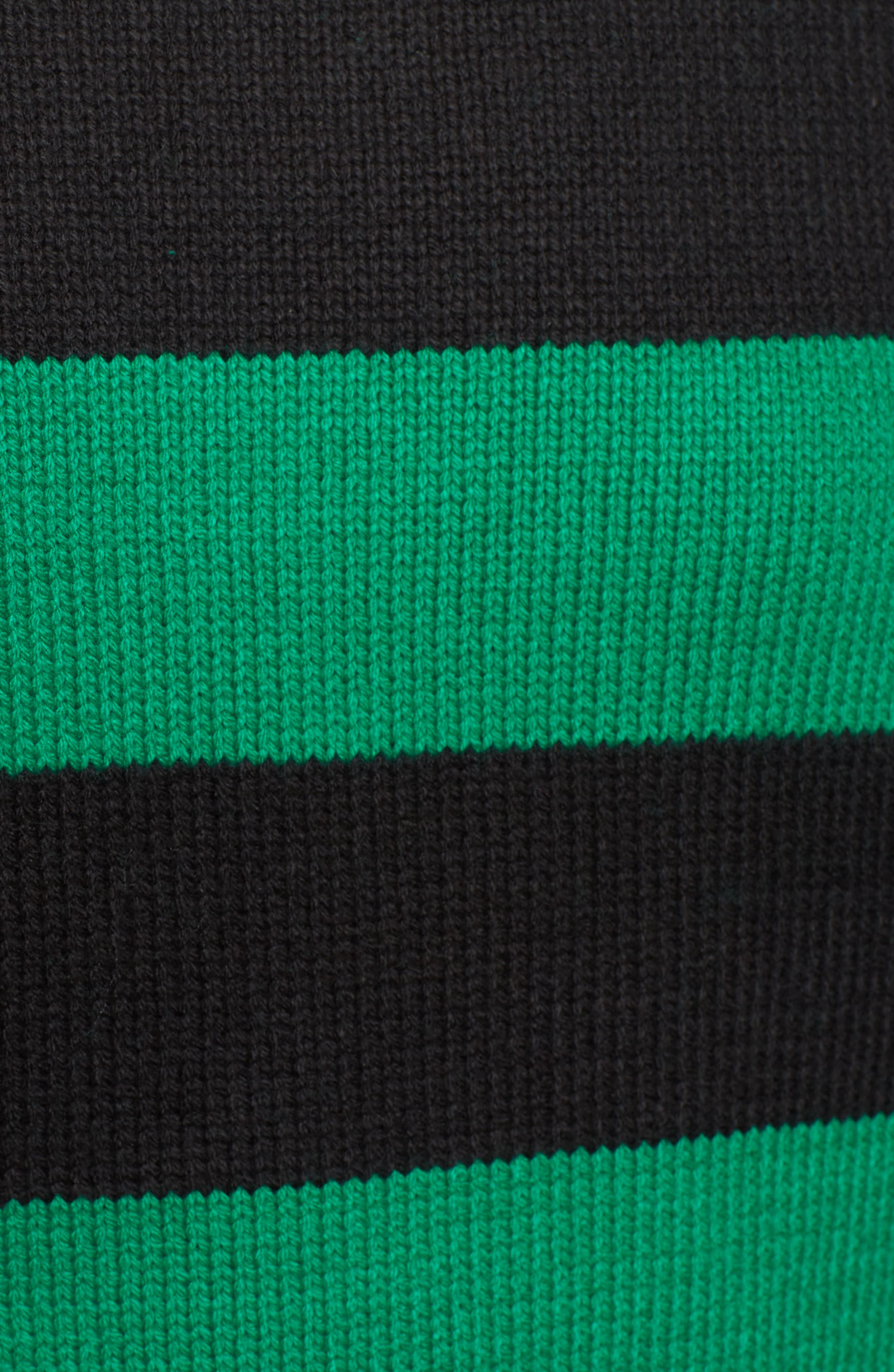 Destroyed Stripe Sweater,                             Alternate thumbnail 5, color,                             300