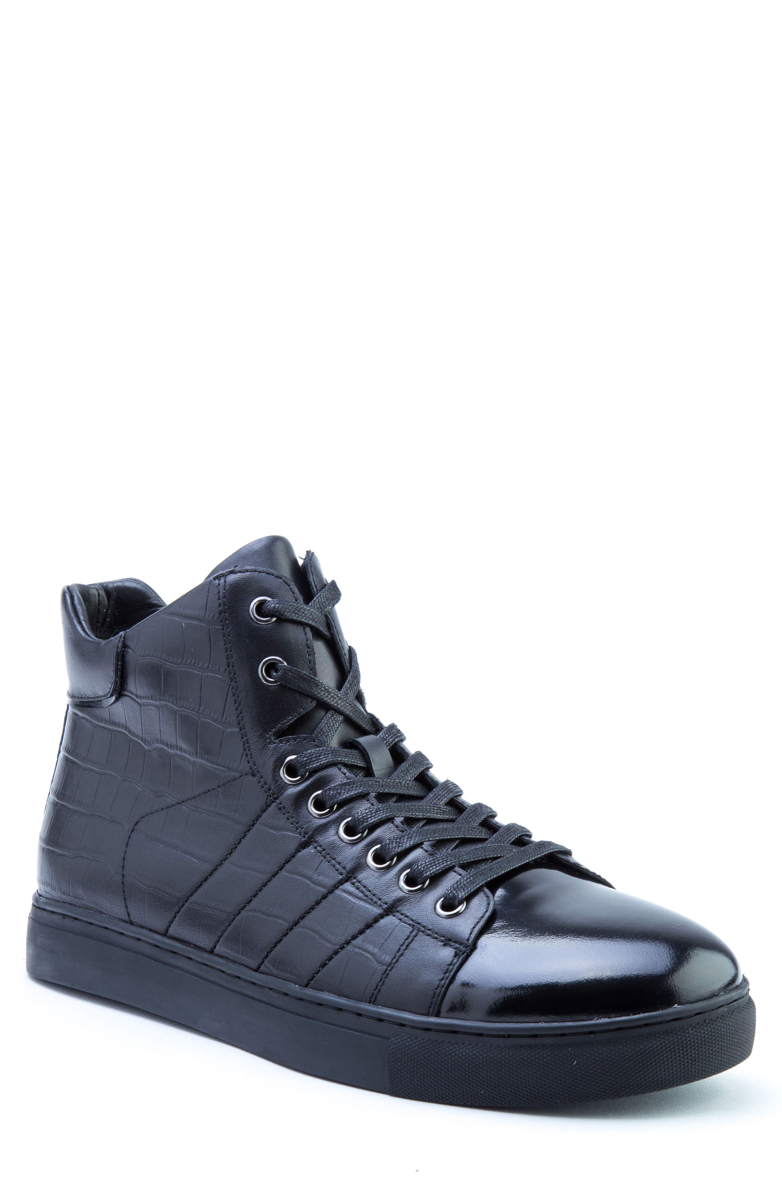 Clift High Top Sneaker,                             Main thumbnail 1, color,                             001