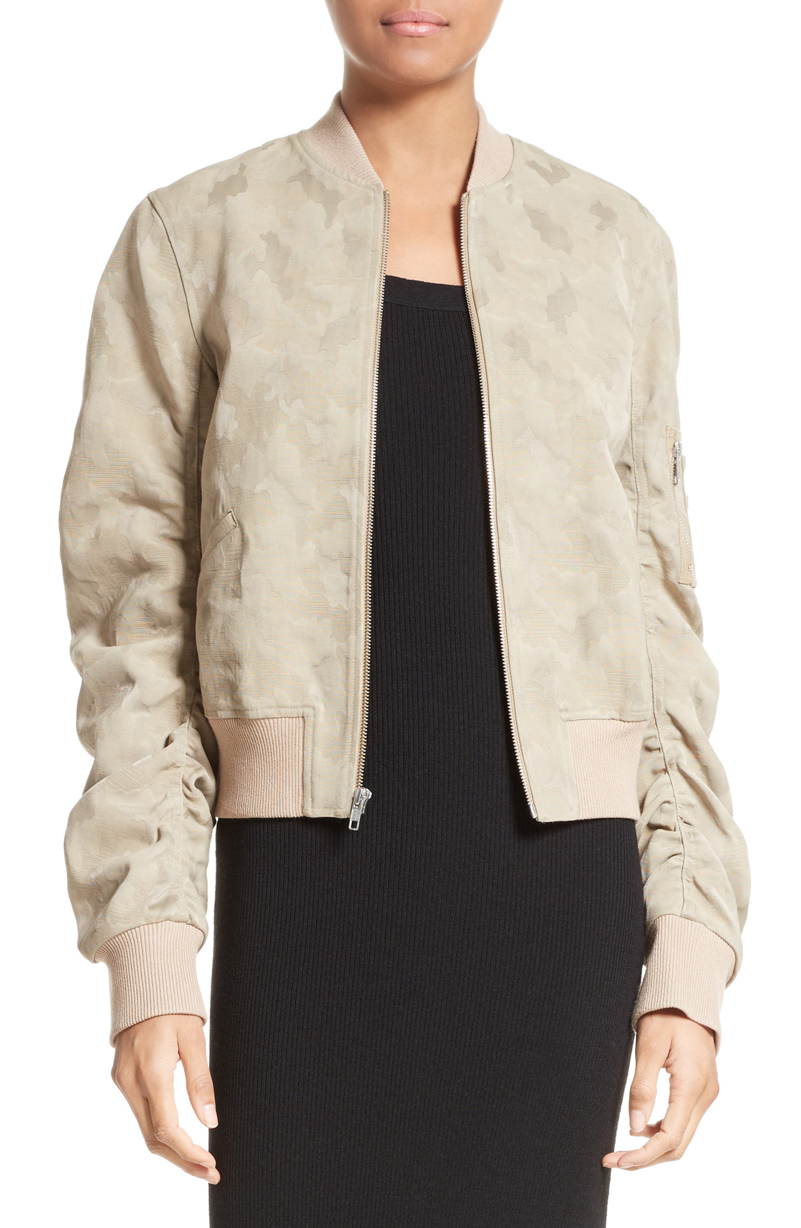 Andrew Brocade Bomber Jacket,                         Main,                         color, 260
