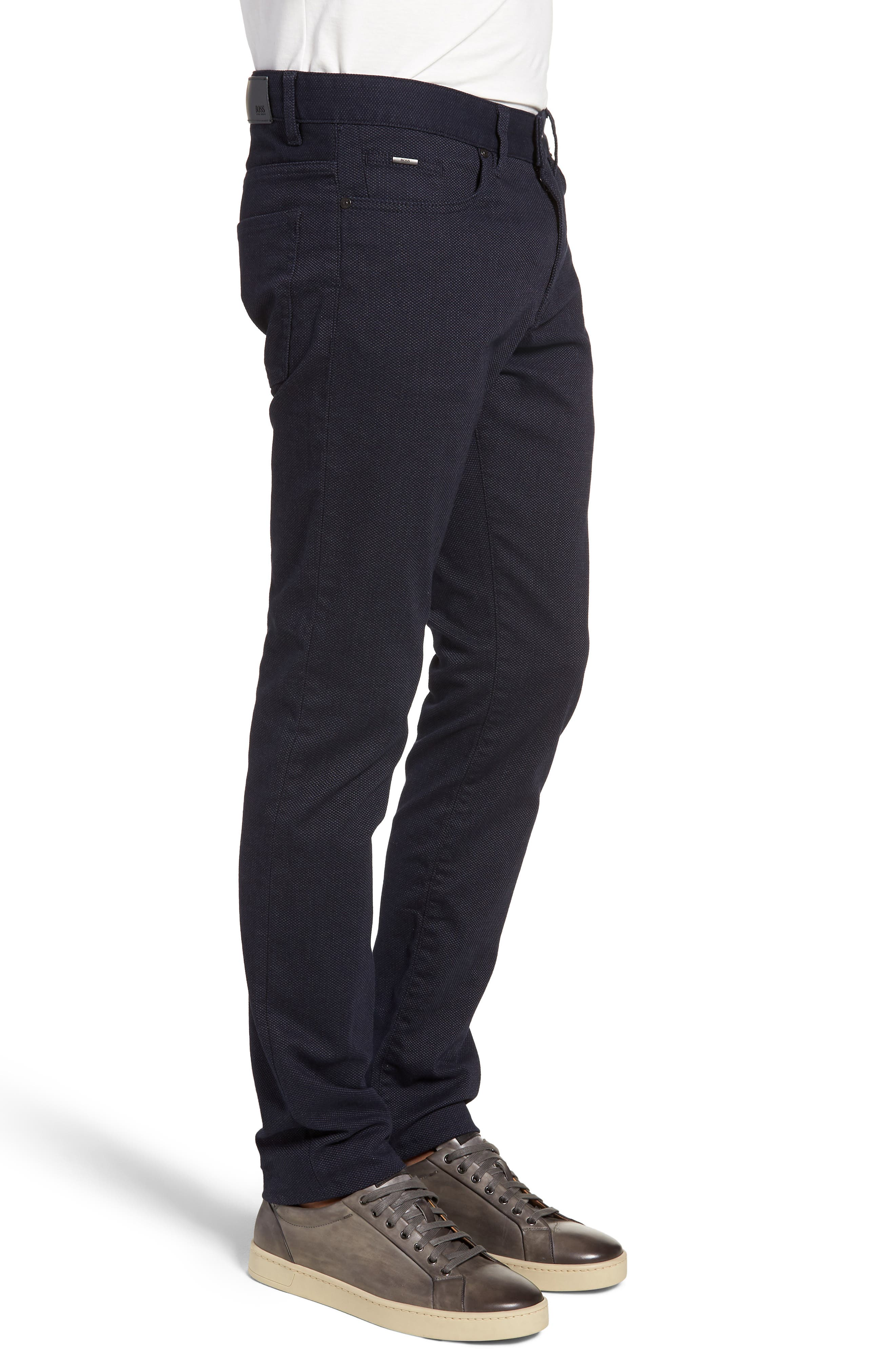 Delaware Slim Fit Jeans,                             Alternate thumbnail 3, color,                             NAVY
