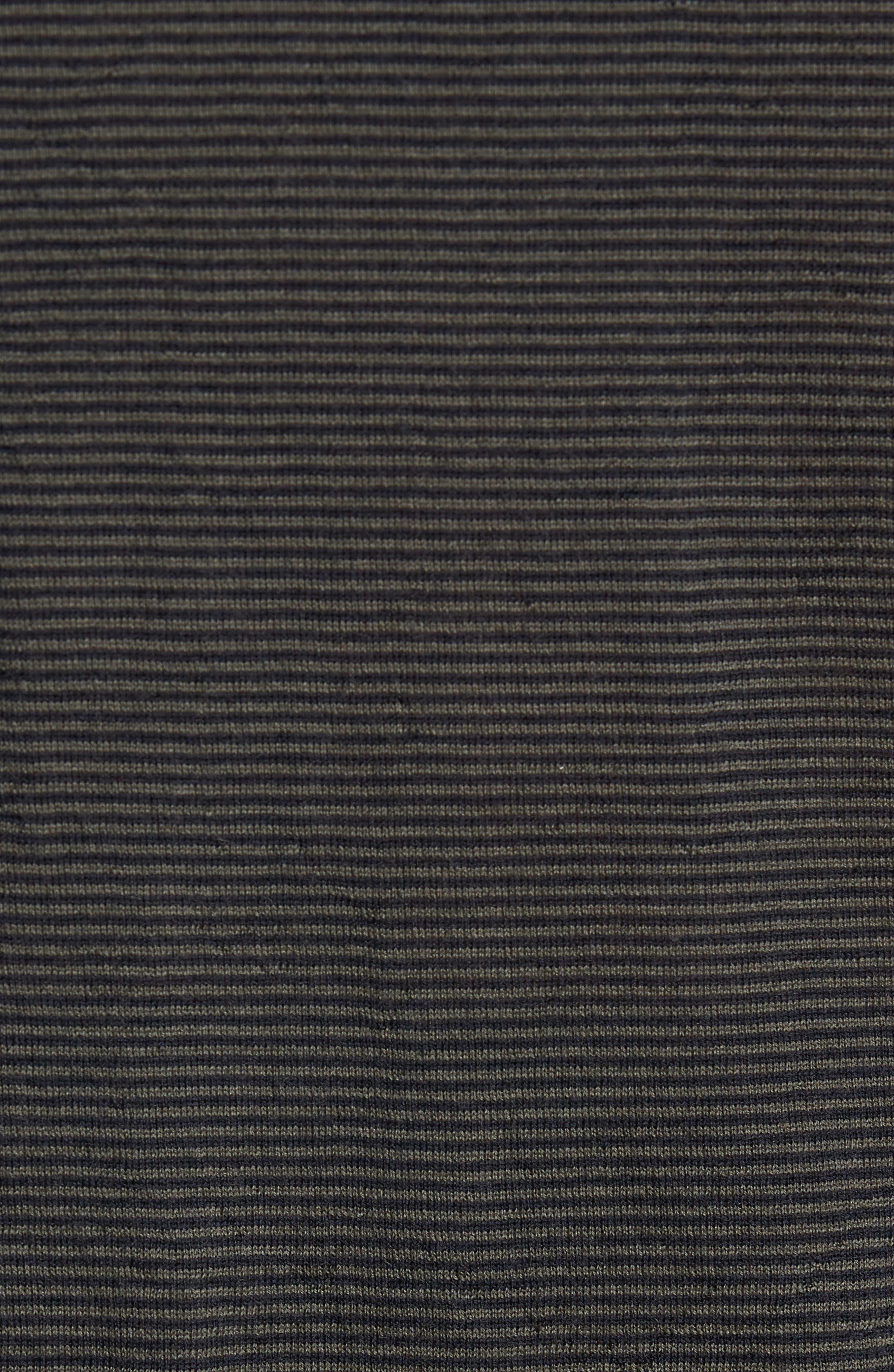Regular Fit Pinstripe Wool Sweater,                             Alternate thumbnail 5, color,                             400