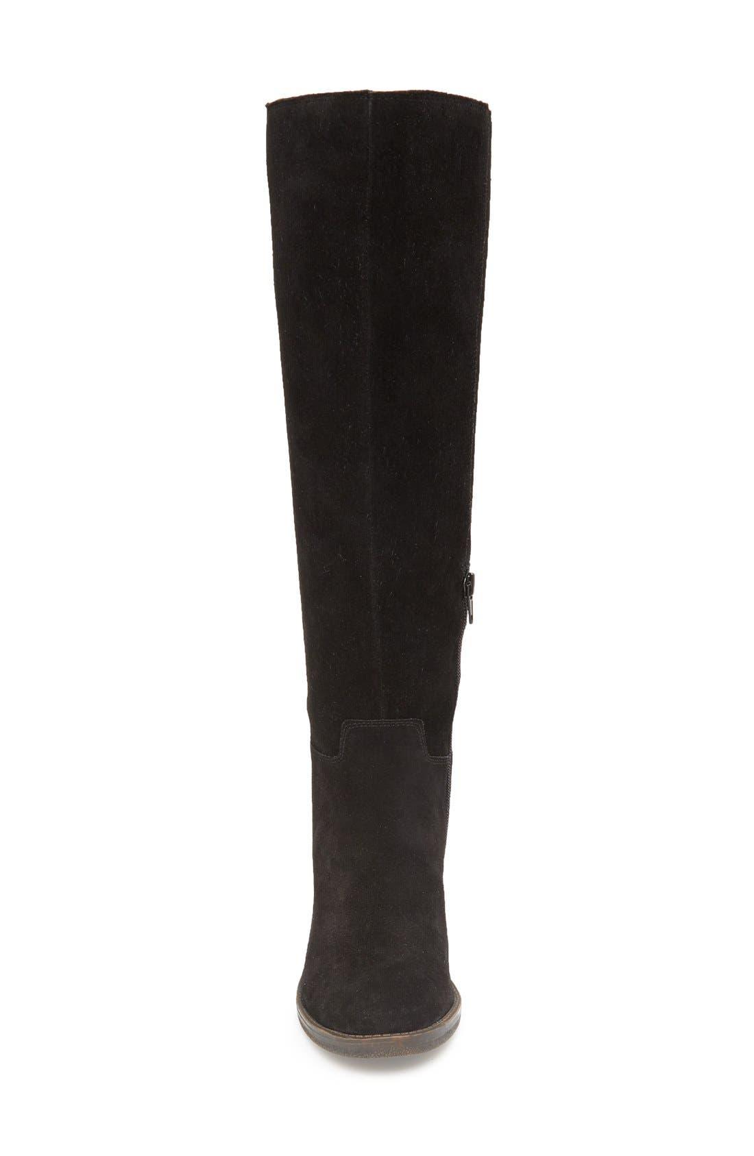 LUCKY BRAND,                             Ritten Tall Boot,                             Alternate thumbnail 3, color,                             002