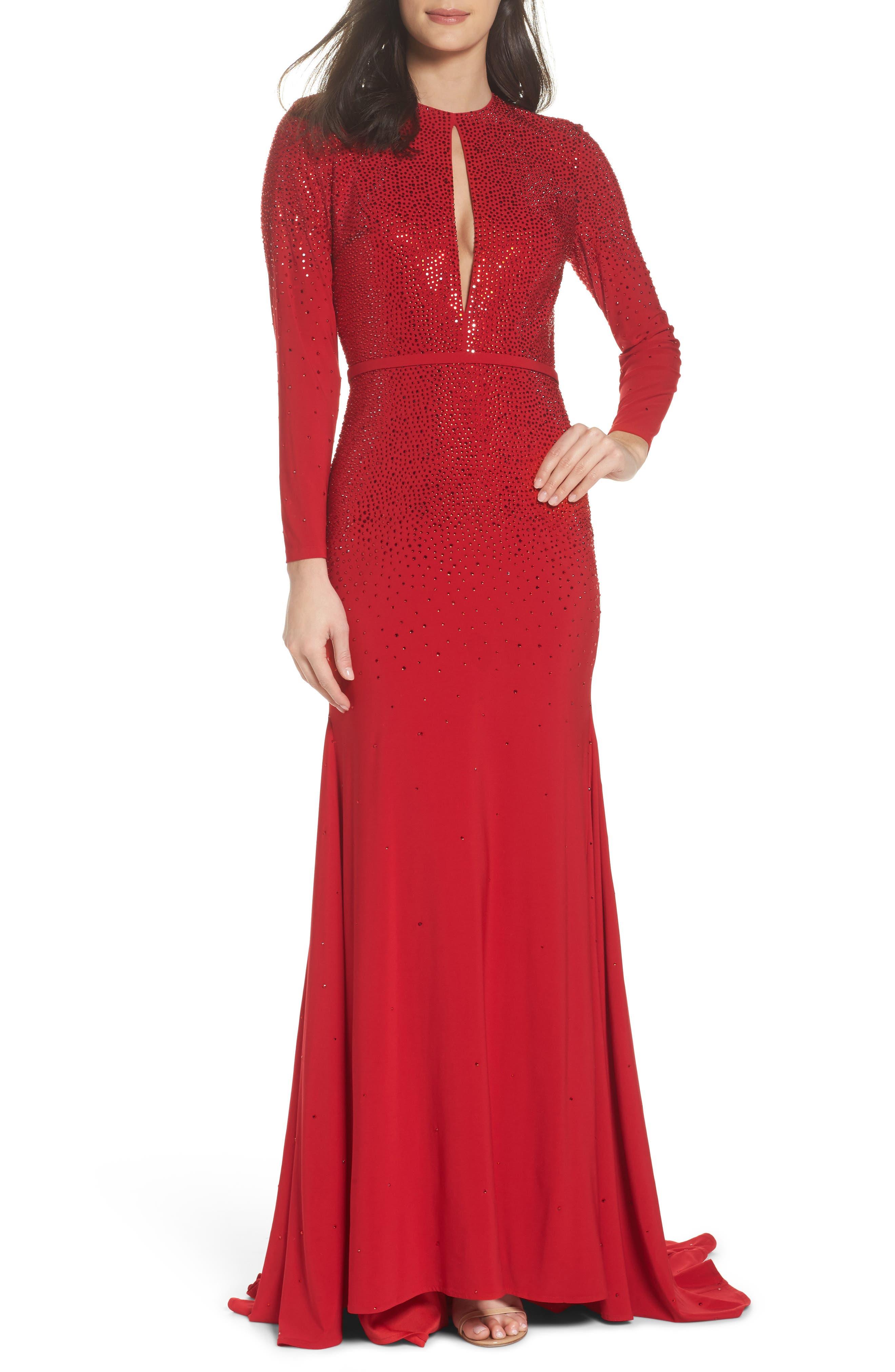 Off the Shoulder Fit & Flare Dress,                         Main,                         color, 600