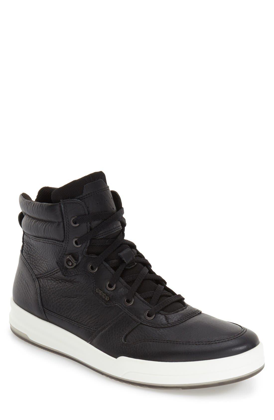 'Jack' High Top Sneaker,                             Main thumbnail 1, color,                             001